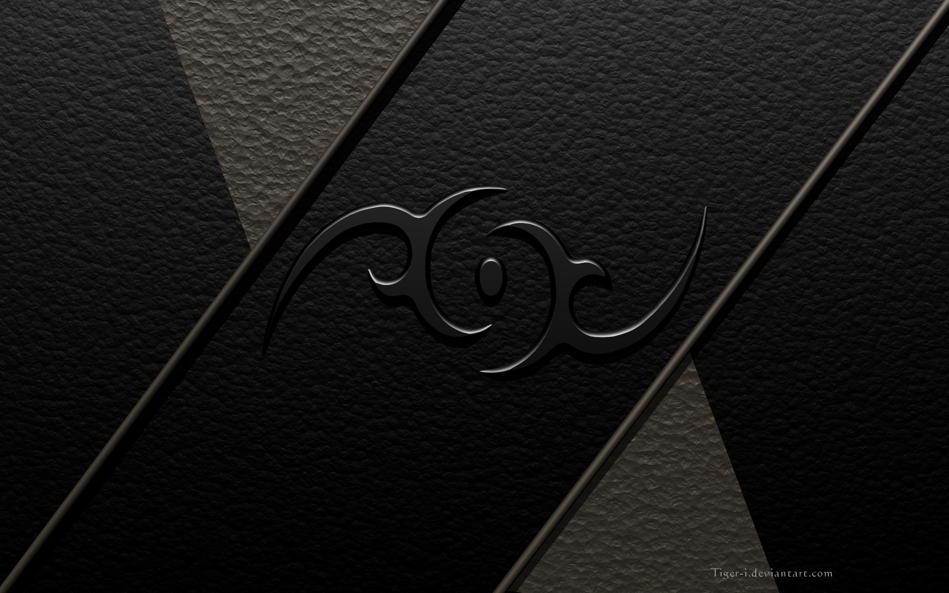 Res: 1920x1200, Artistic - Other Metal Dark Tribal Wallpaper