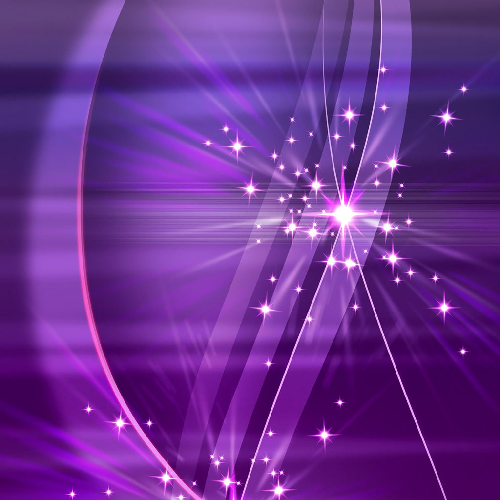 Res: 2048x2048, Abstract HD Simply Violet Sparks 3D Wallpapers Wallpaper for iPad