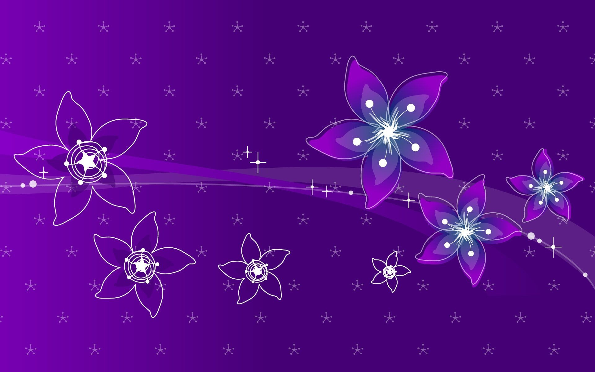 Res: 1920x1200, Violet Flowers Wallpapers HD Pictures | One HD Wallpaper Pictures .