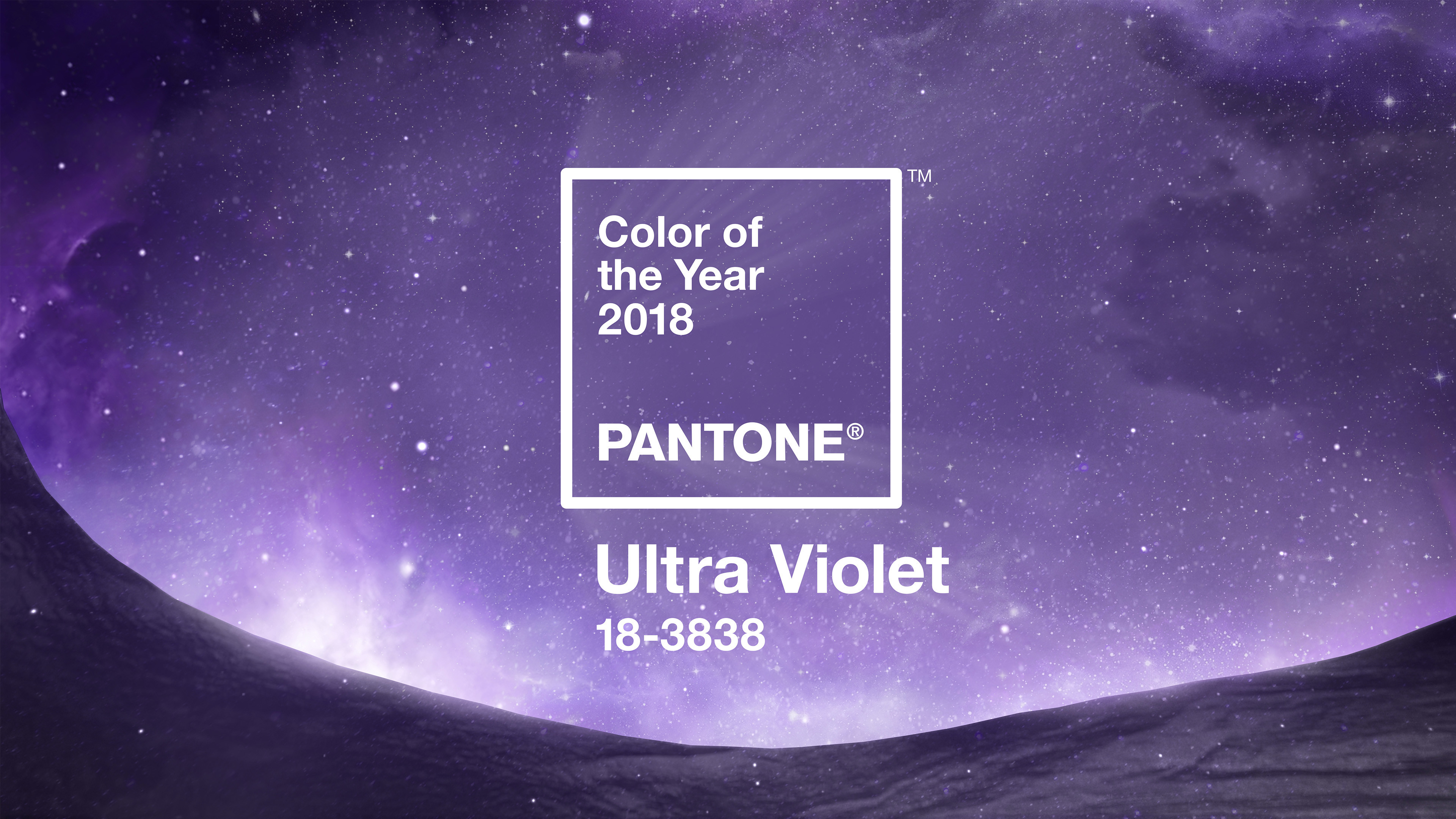 Res: 3840x2160, Pantone Color of the Year 2018 Digital Wallpapers - Ultra Violet ...