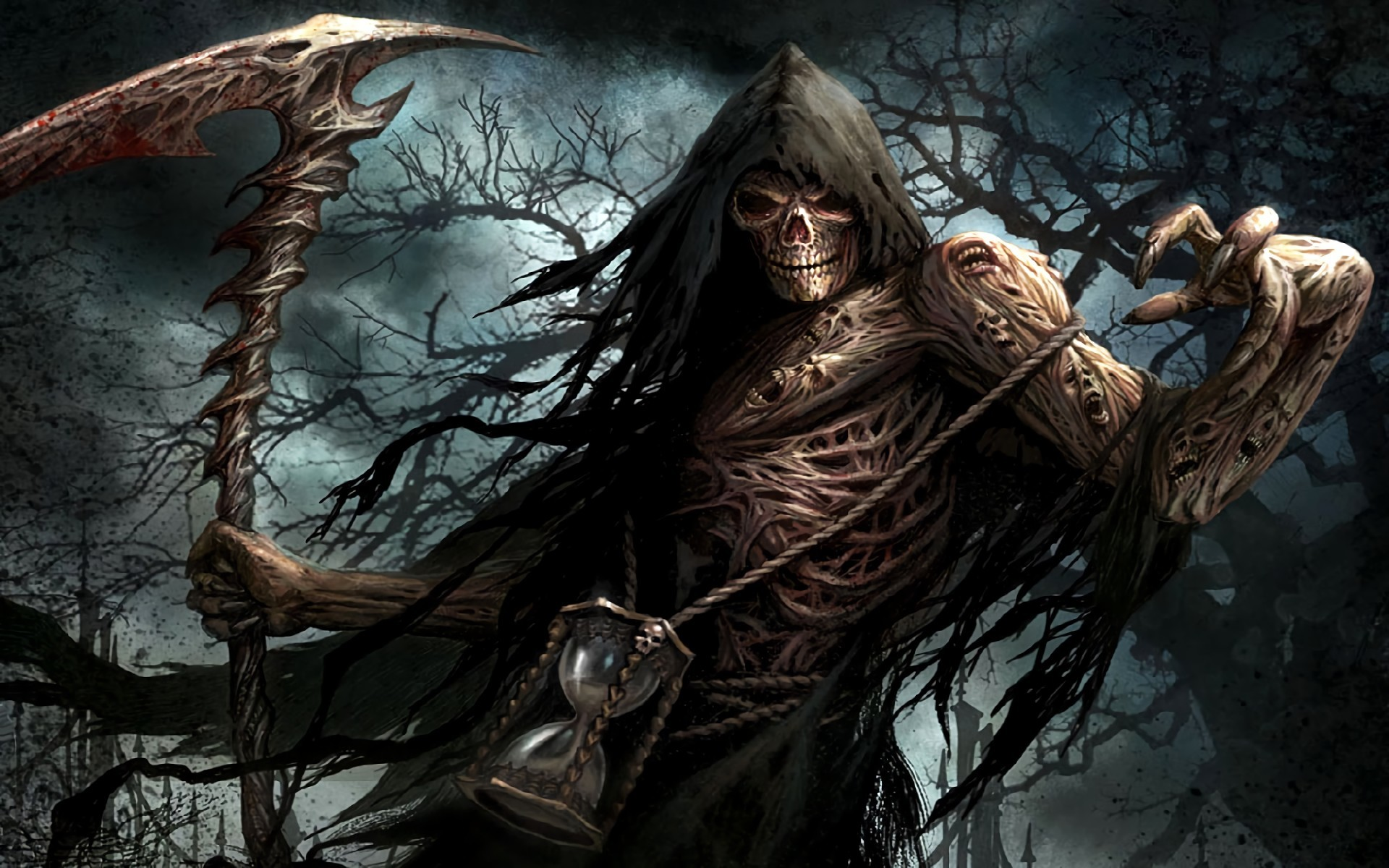 Res: 1920x1200,  HD Wallpaper | Background ID:236134.  Dark Grim Reaper