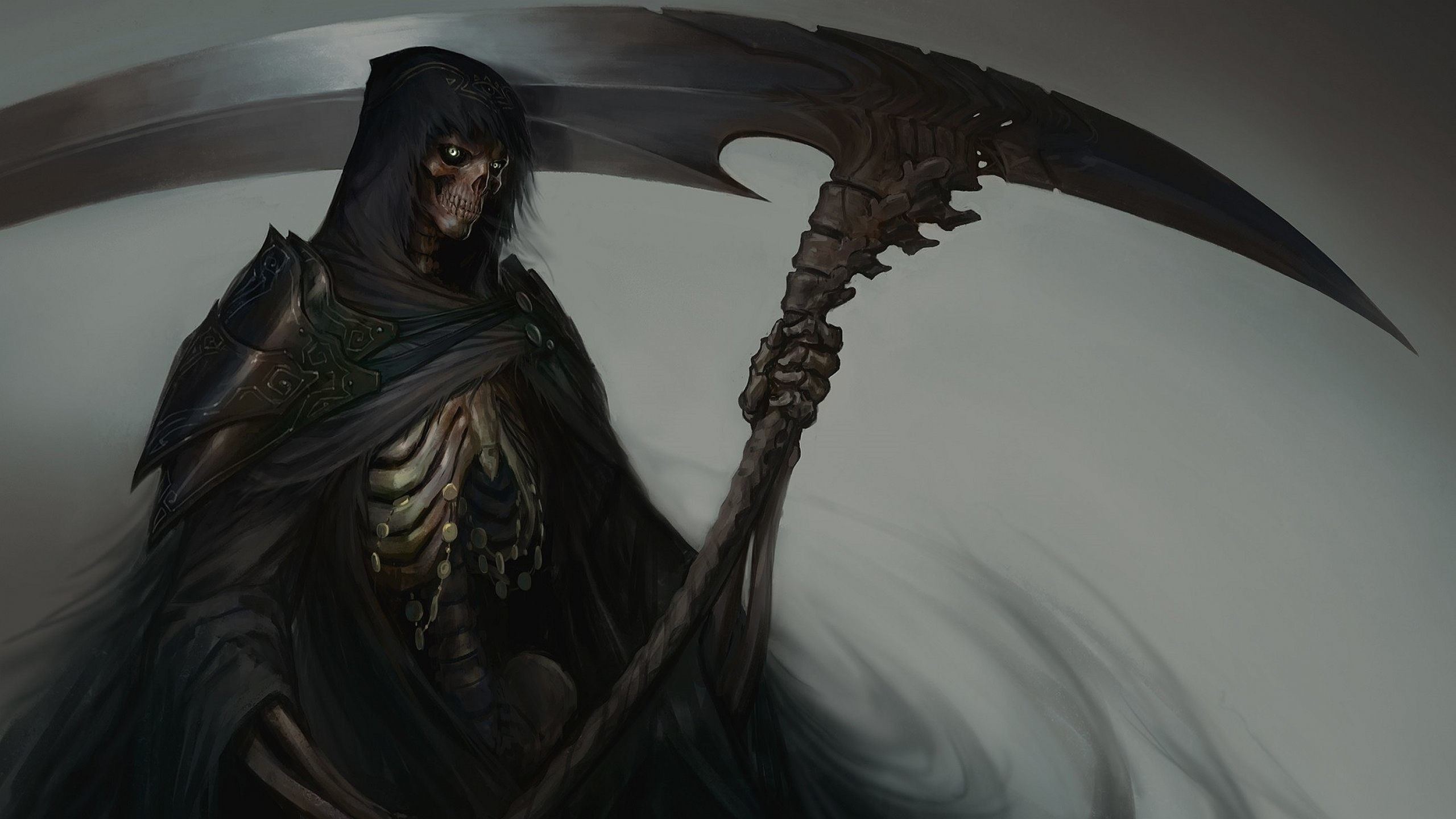 Res: 2560x1440, Grim Reaper On Horse Wallpapers Full Hd
