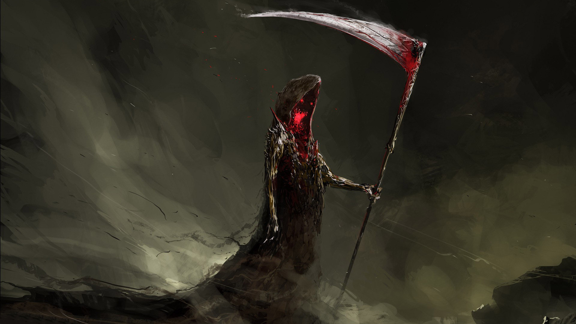 Res: 1920x1080, Grim Reaper HD Wallpaper  Grim ...