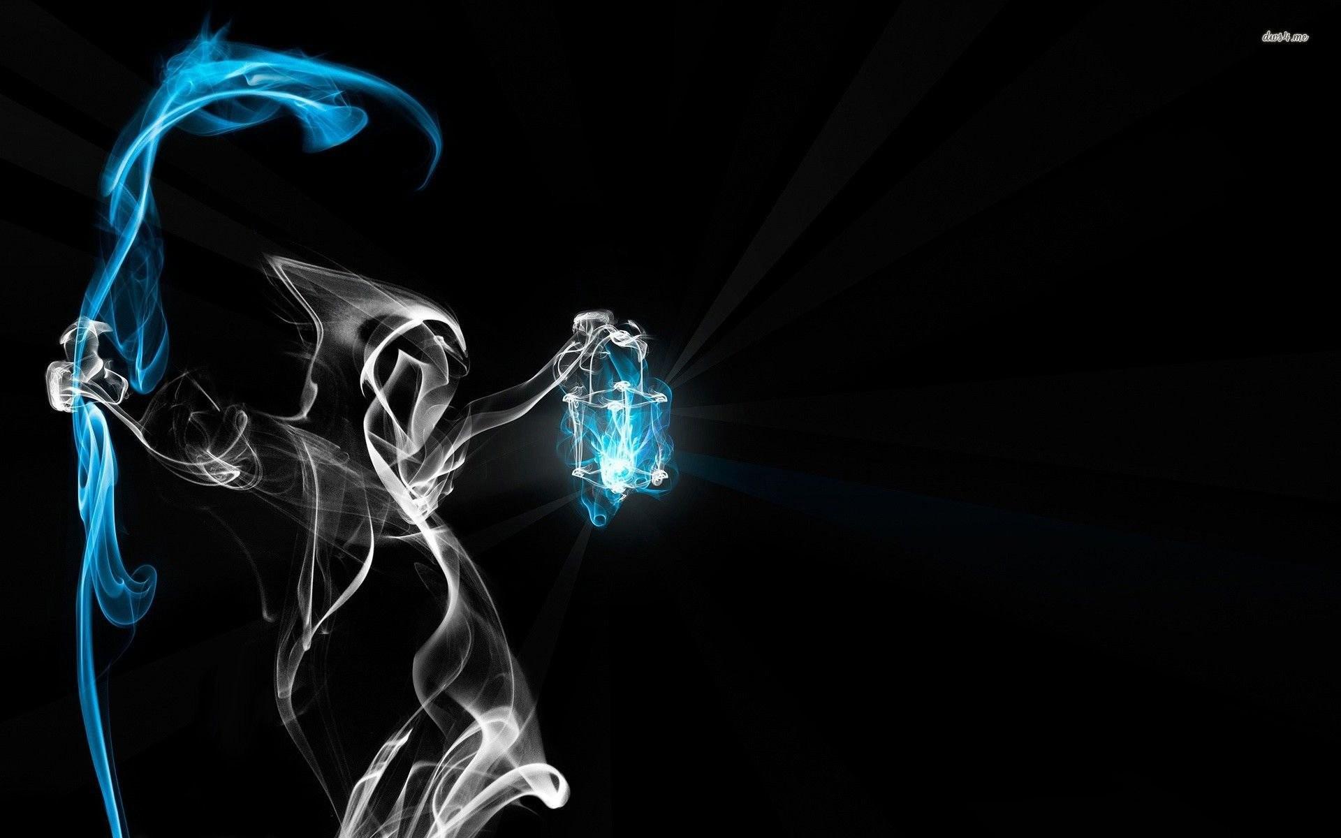 Res: 1920x1200, smoke grim reaper