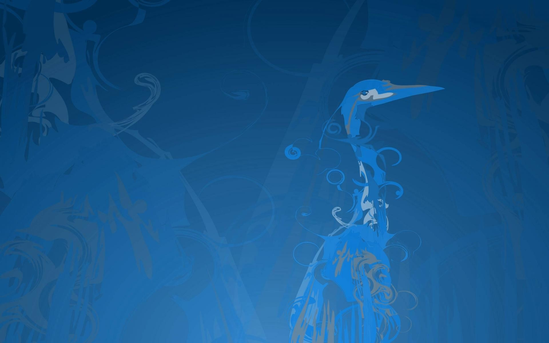 Res: 1920x1200, Ubuntu hardy blue by goko music wallpaper.