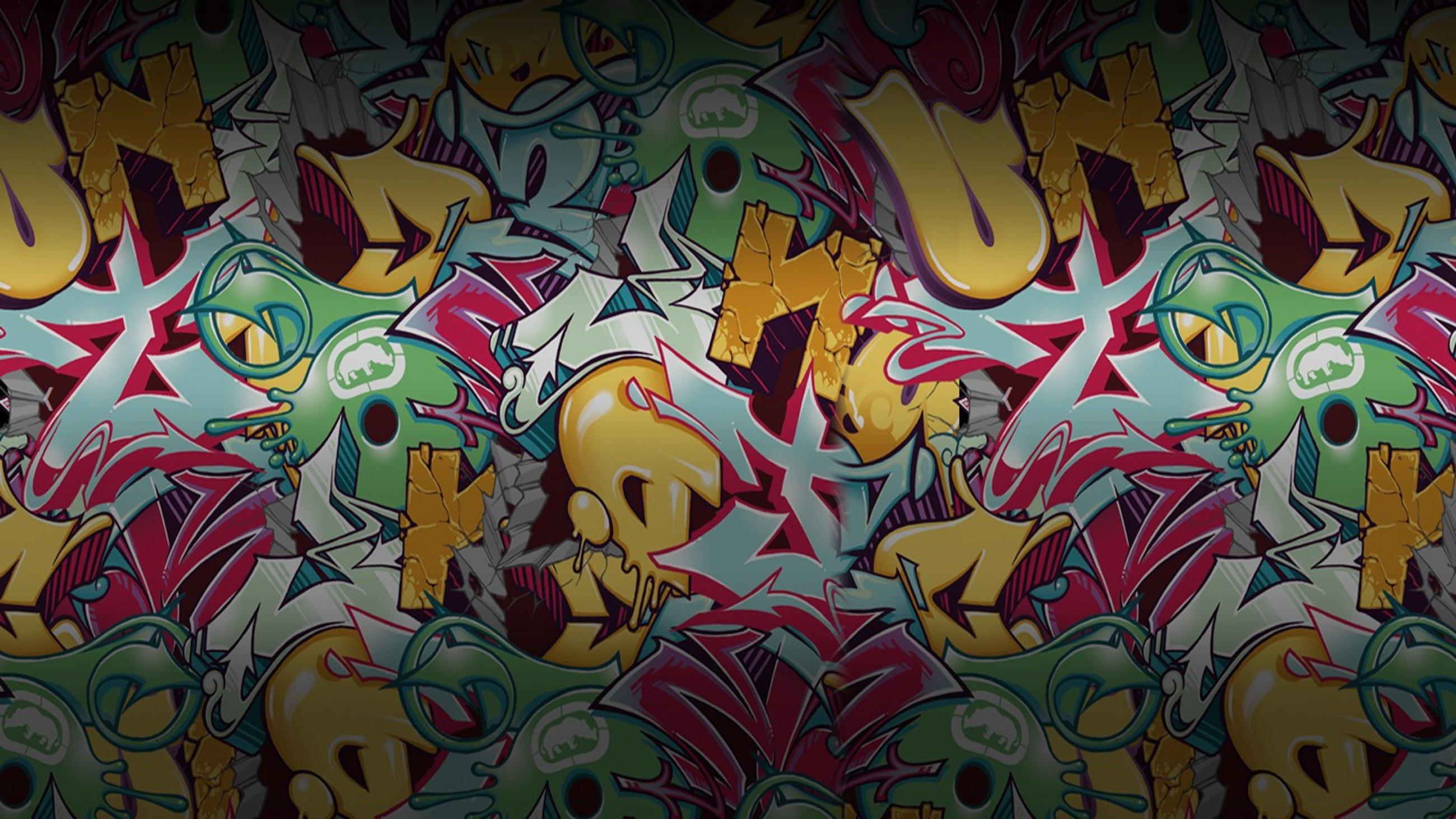 Res: 2600x1462, Ecko Unlimited Graffiti Ecko Wallpaper (64+ Images)