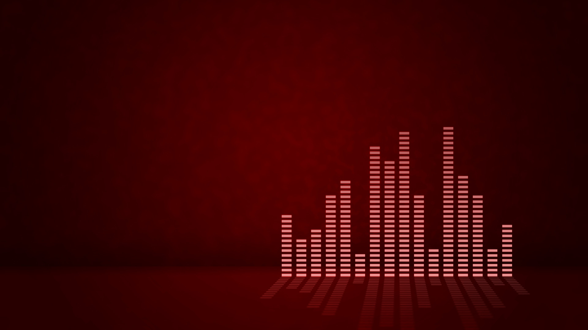 Res: 1920x1080, Equalizer, Dark Red Background wallpaper thumb