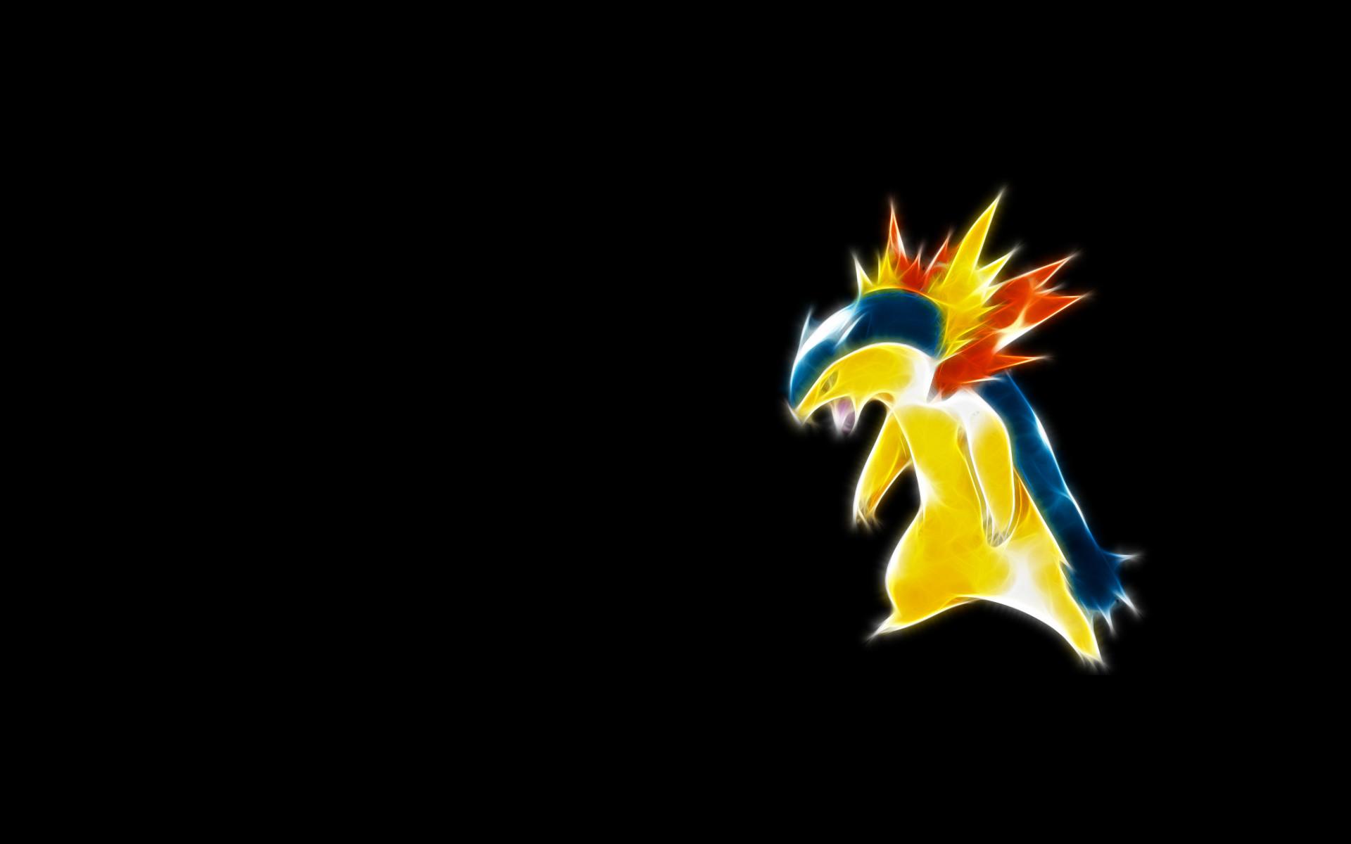 Res: 1920x1200, Pokemon Typhlosion Wallpaper