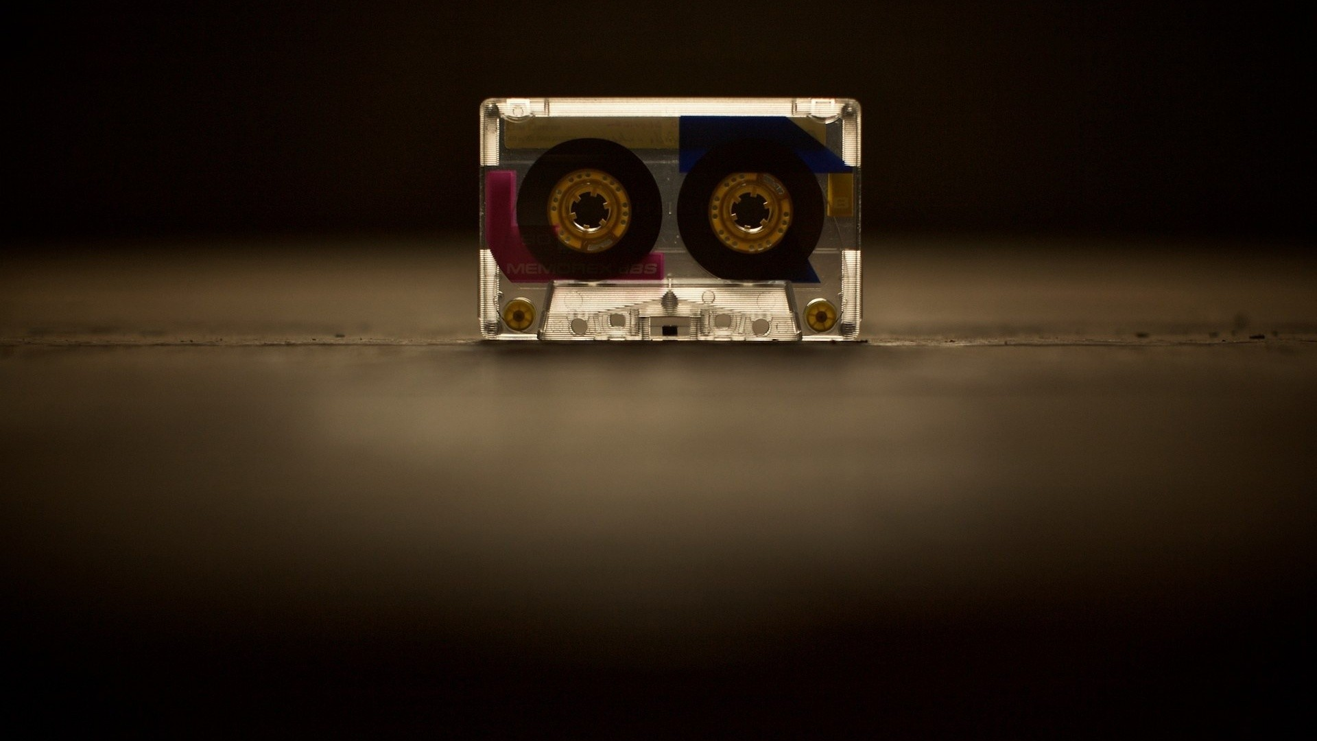 Res: 1920x1080, memory, retro, tape, memorex, music