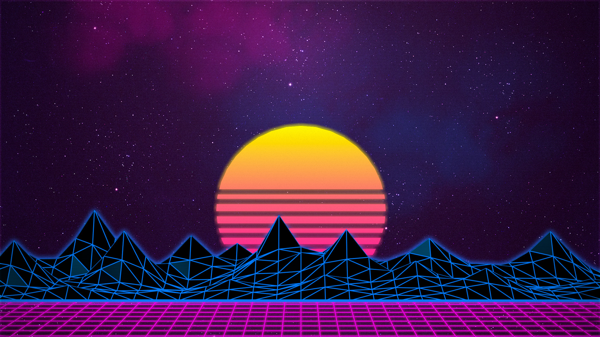 Res: 1920x1080, Download Wallpaper · retro