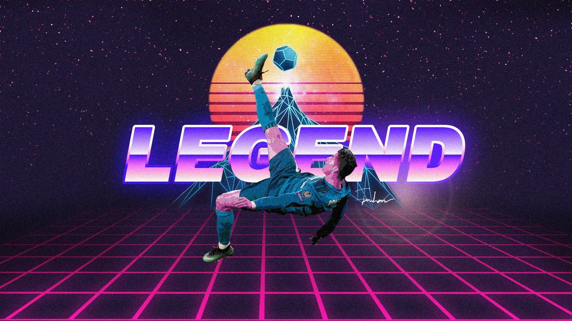 Res: 1920x1080, Legend Cristiano Ronaldo Retro