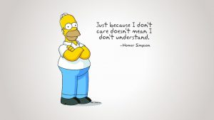 Funny Simpsons wallpapers