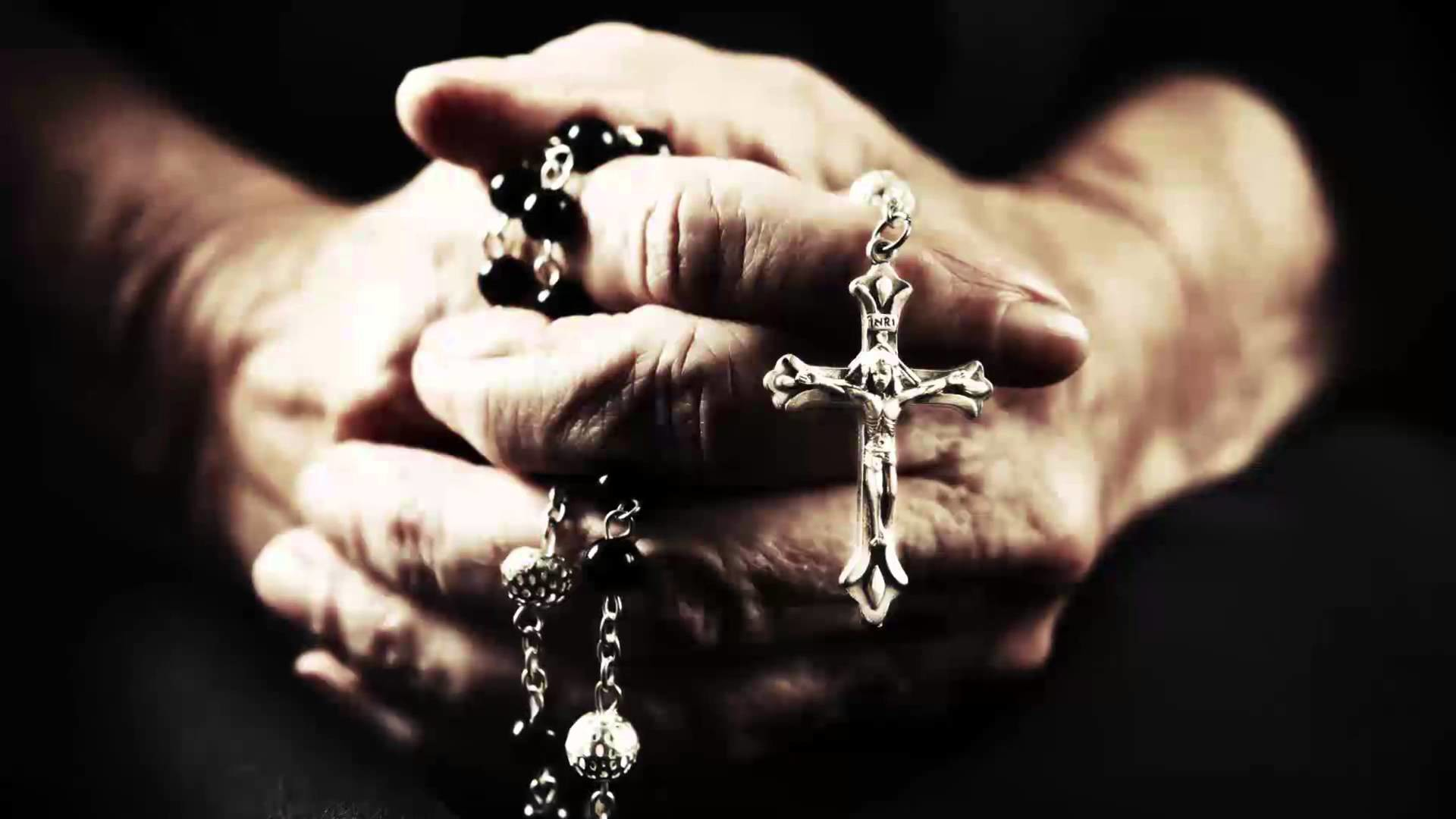 Res: 1920x1080, prayer holy rosary hd wallpaper