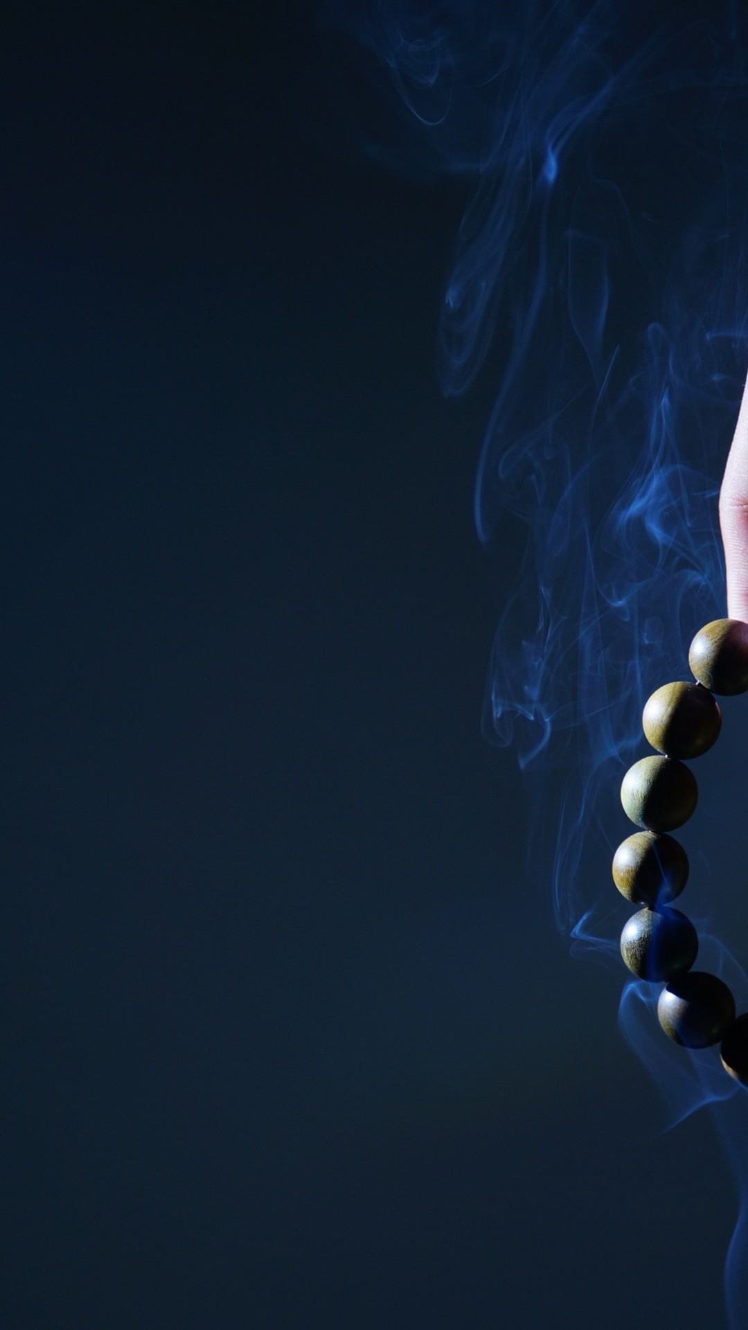 Res: 1080x1920, Rosary, Smoke, Hand