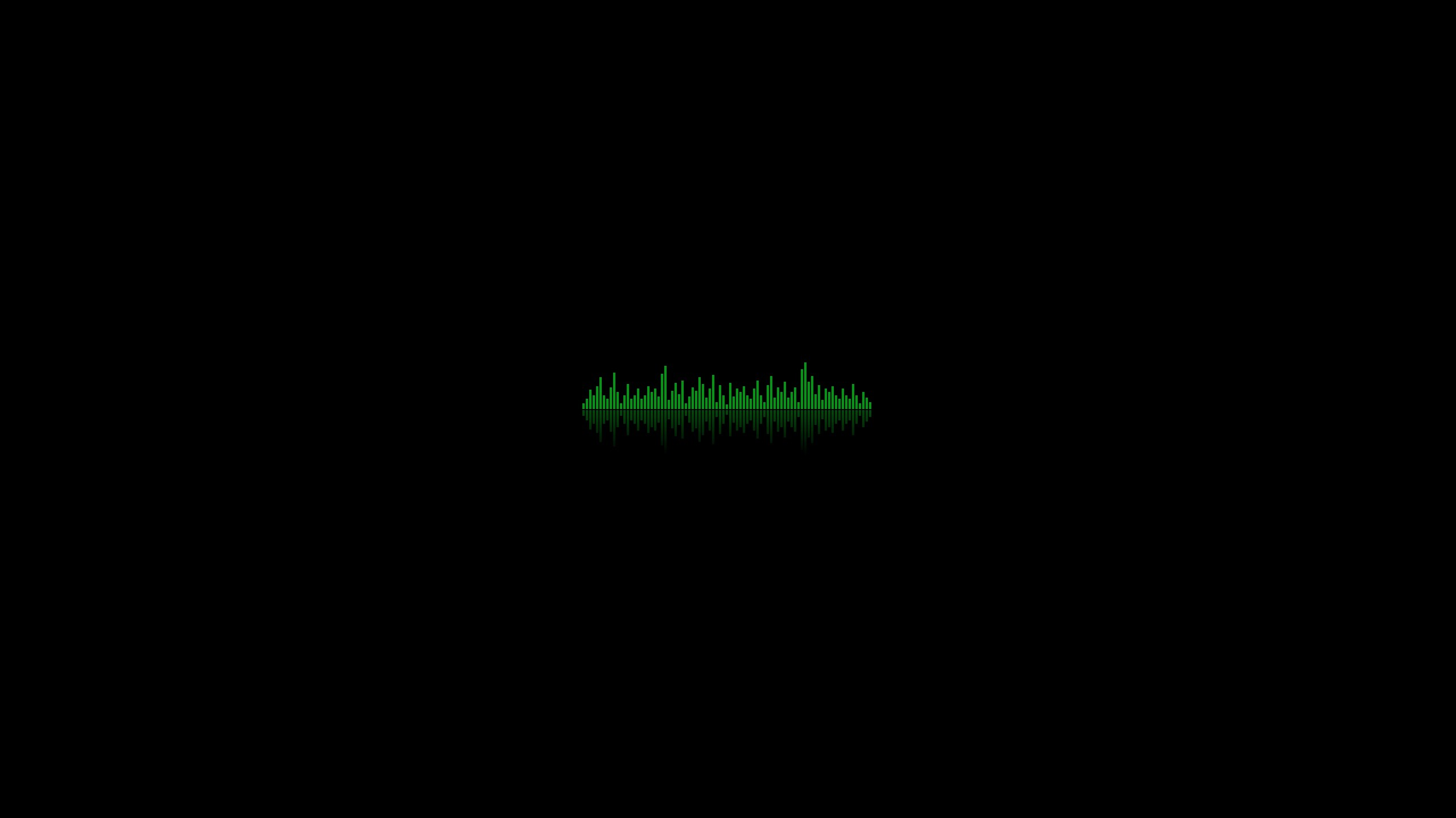 Res: 2560x1440,  Wallpaper background, equalizer, dark, lines, ribbed, green