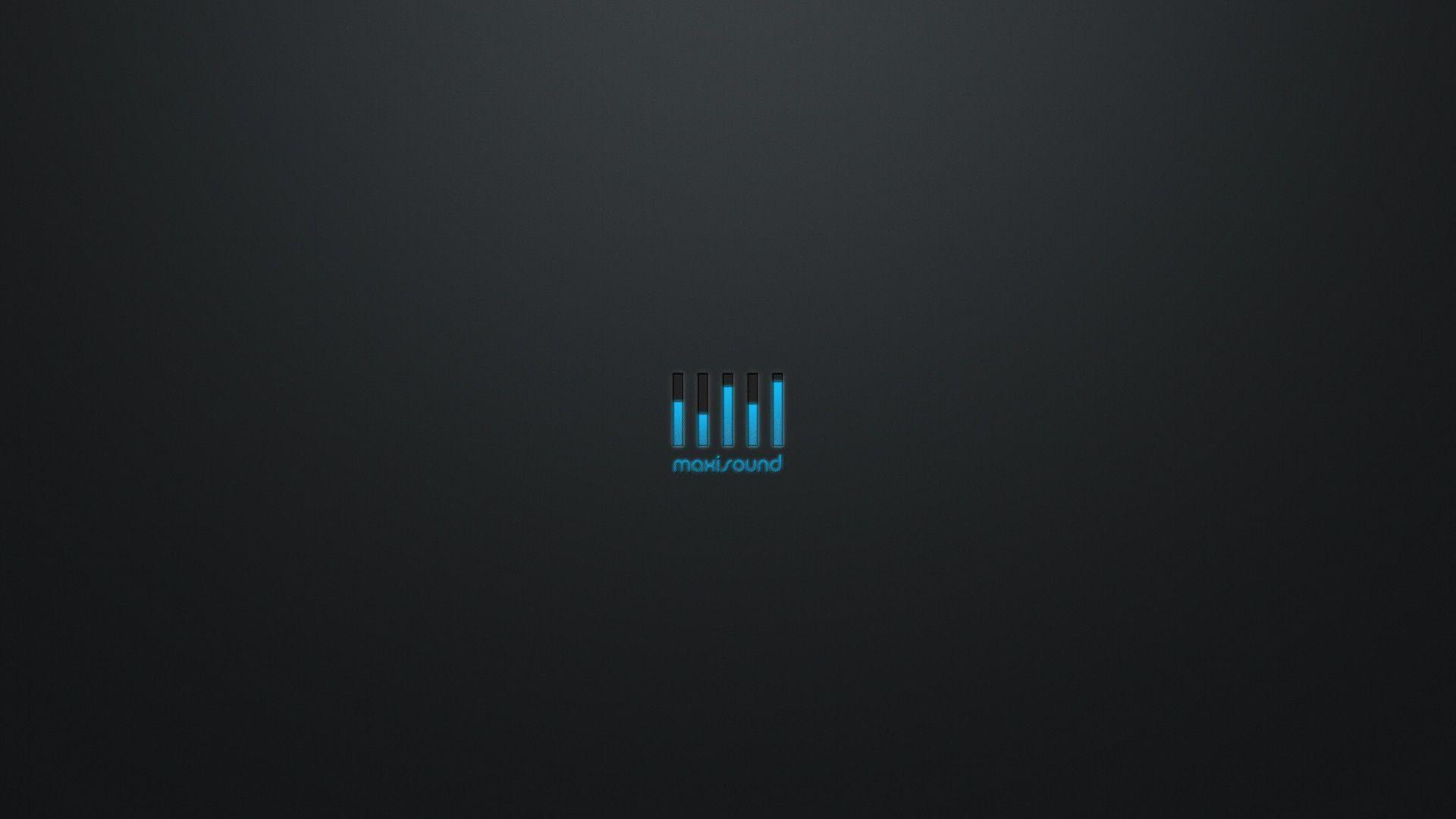 Res: 1920x1080, HD wallpaper - minimalist - the equalizer, blue glow, maximum .