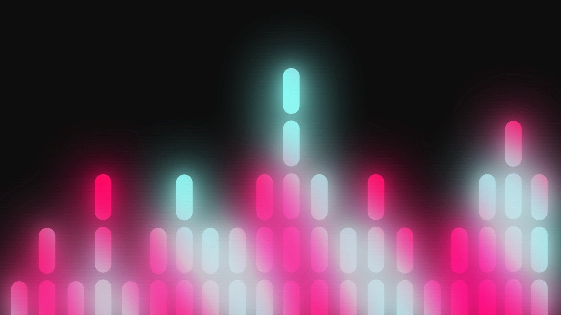 Res: 1920x1080, minimalism, equalizer, bright