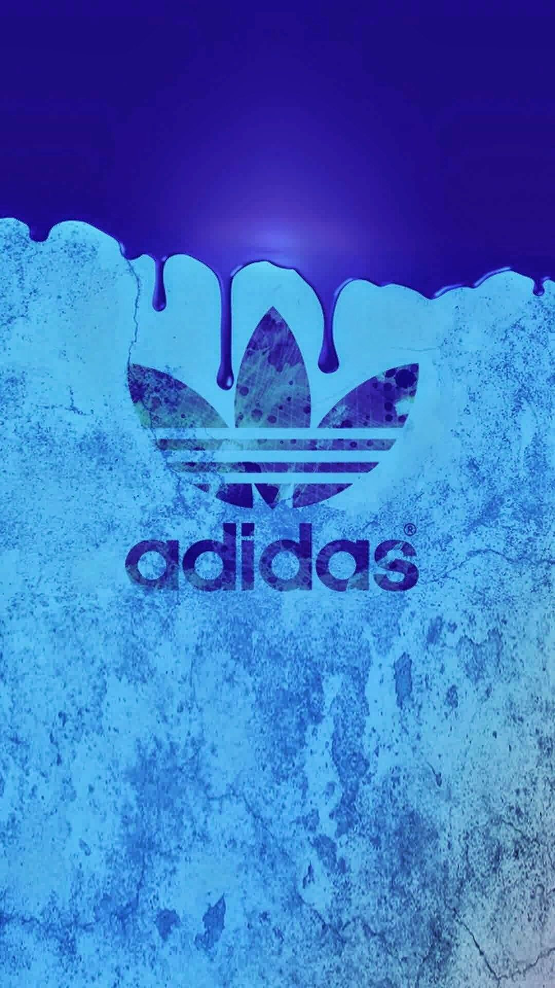 Res: 1080x1920, アディダスオリジナルスロゴブルーバック iPhone壁紙 Wallpaper Backgrounds and Plus. See more. Adidas  Originals ...