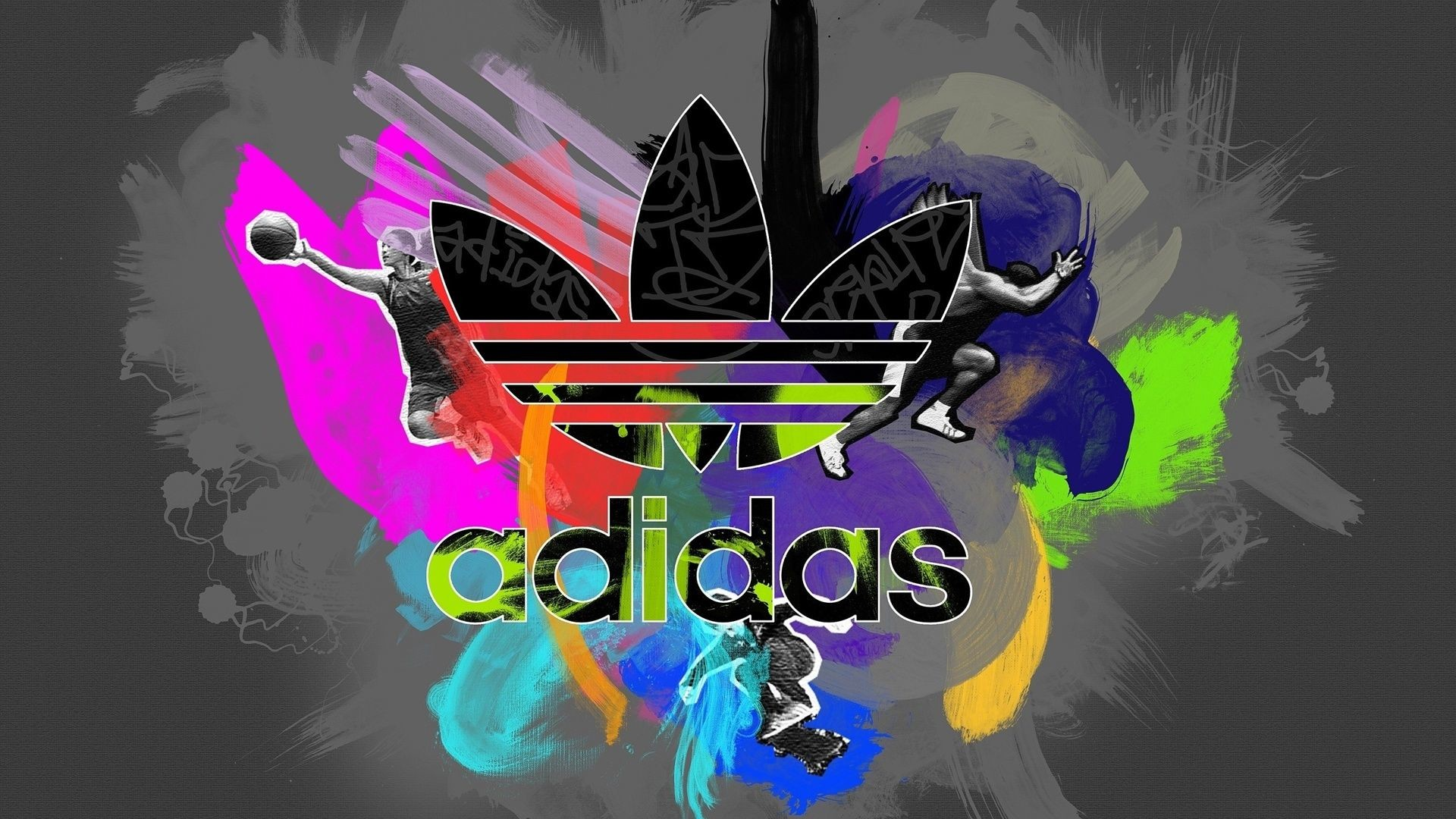 Res: 1920x1080, Colorful Adidas Logo High Definition Wallpapers HD wallpapers