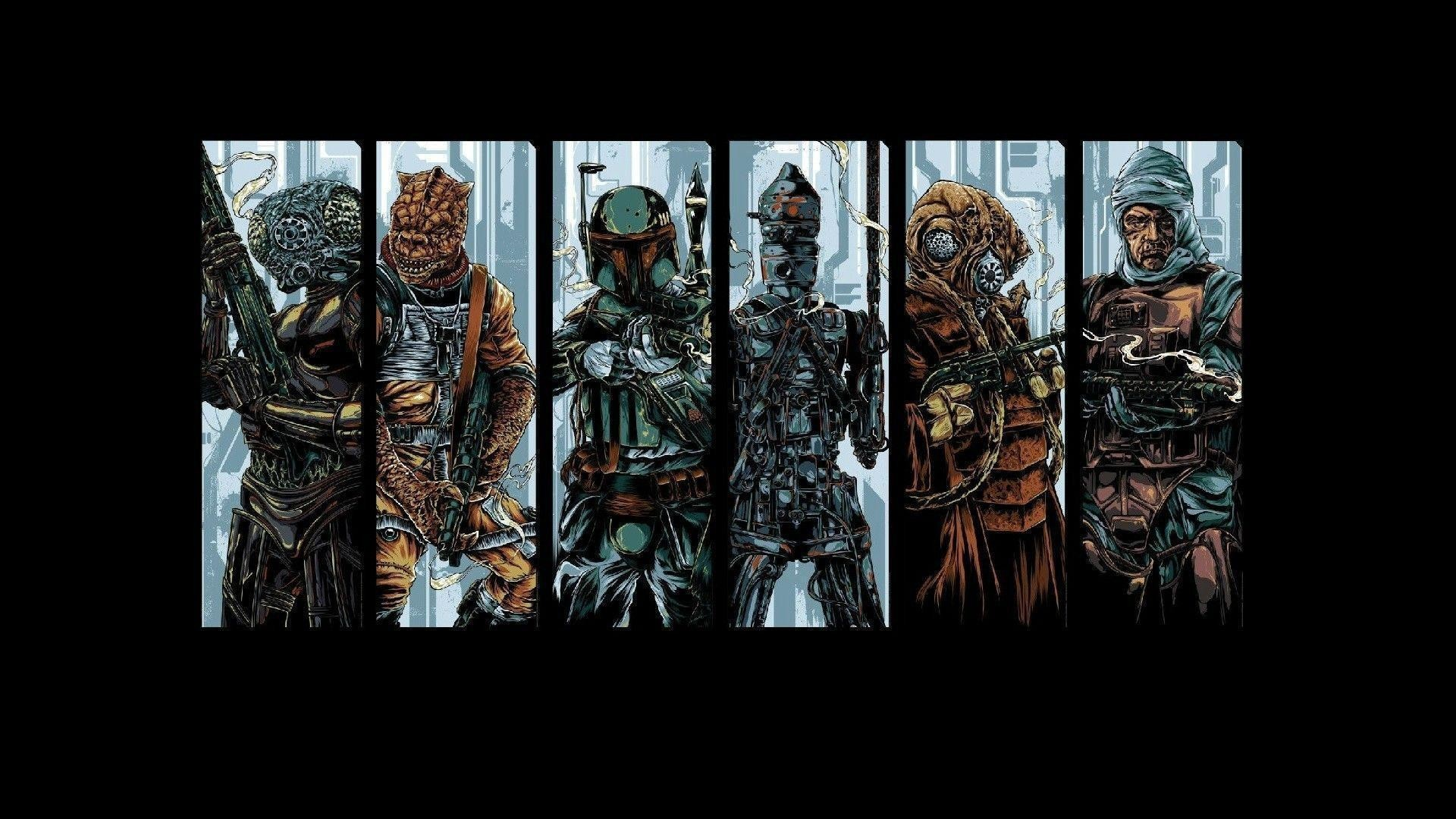 Res: 1920x1080, Weekly Wallpapers: Star Wars Bounty Hunters | PGM