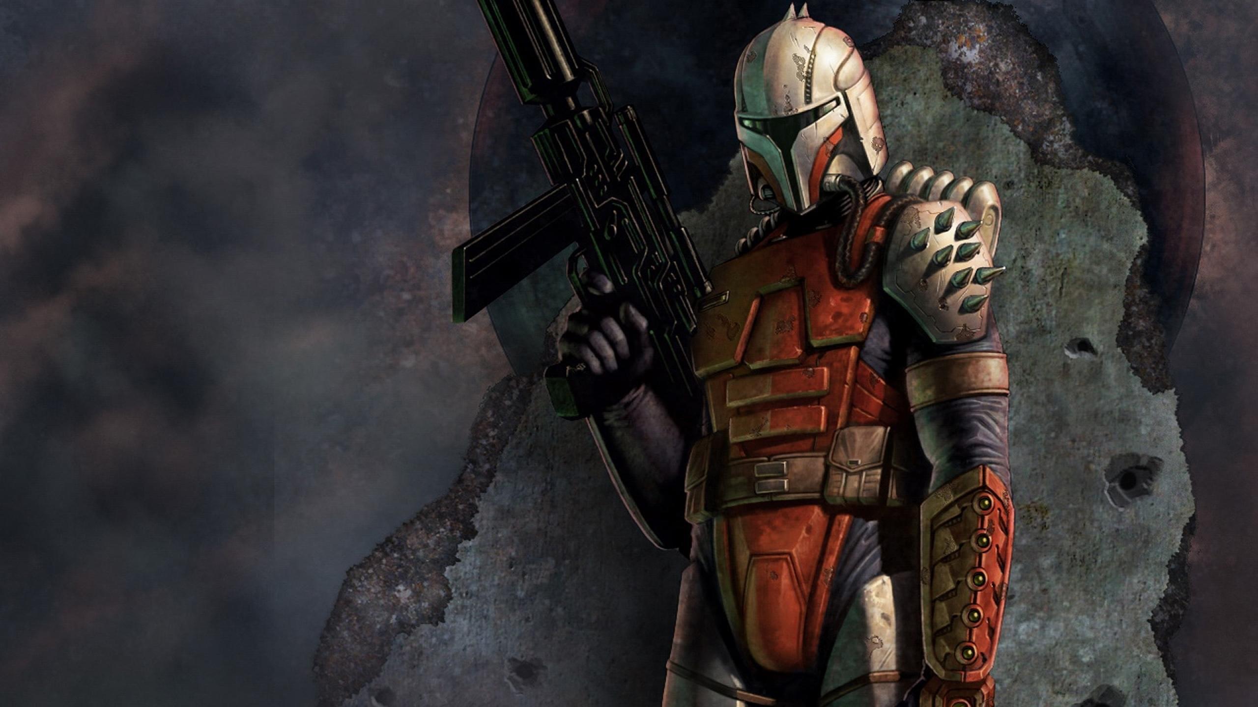 Res: 2560x1440, bounty hunter star wars