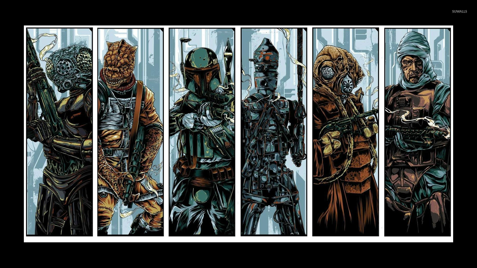 Res: 1920x1080, Star Wars: Bounty Hunter wallpaper