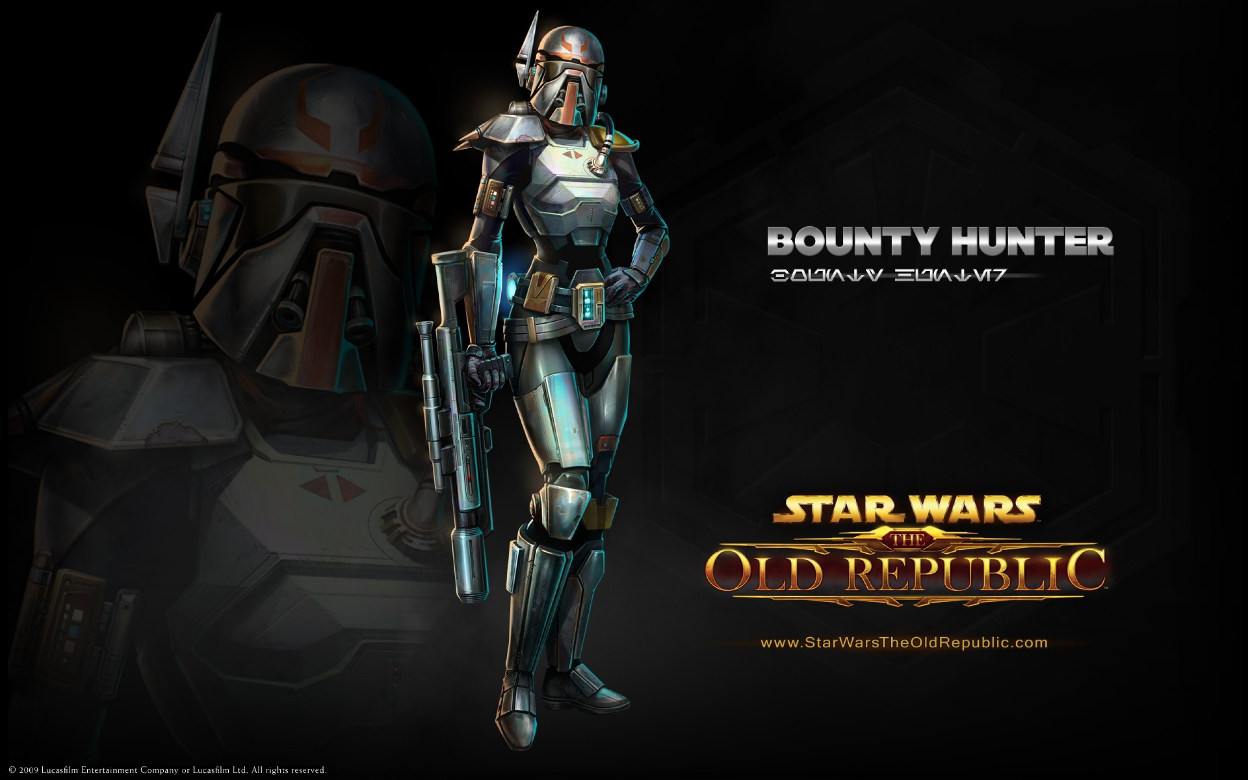 Res: 2560x1600, Video Game - Star Wars: The Old Republic Bounty Hunter Star Wars Wallpaper