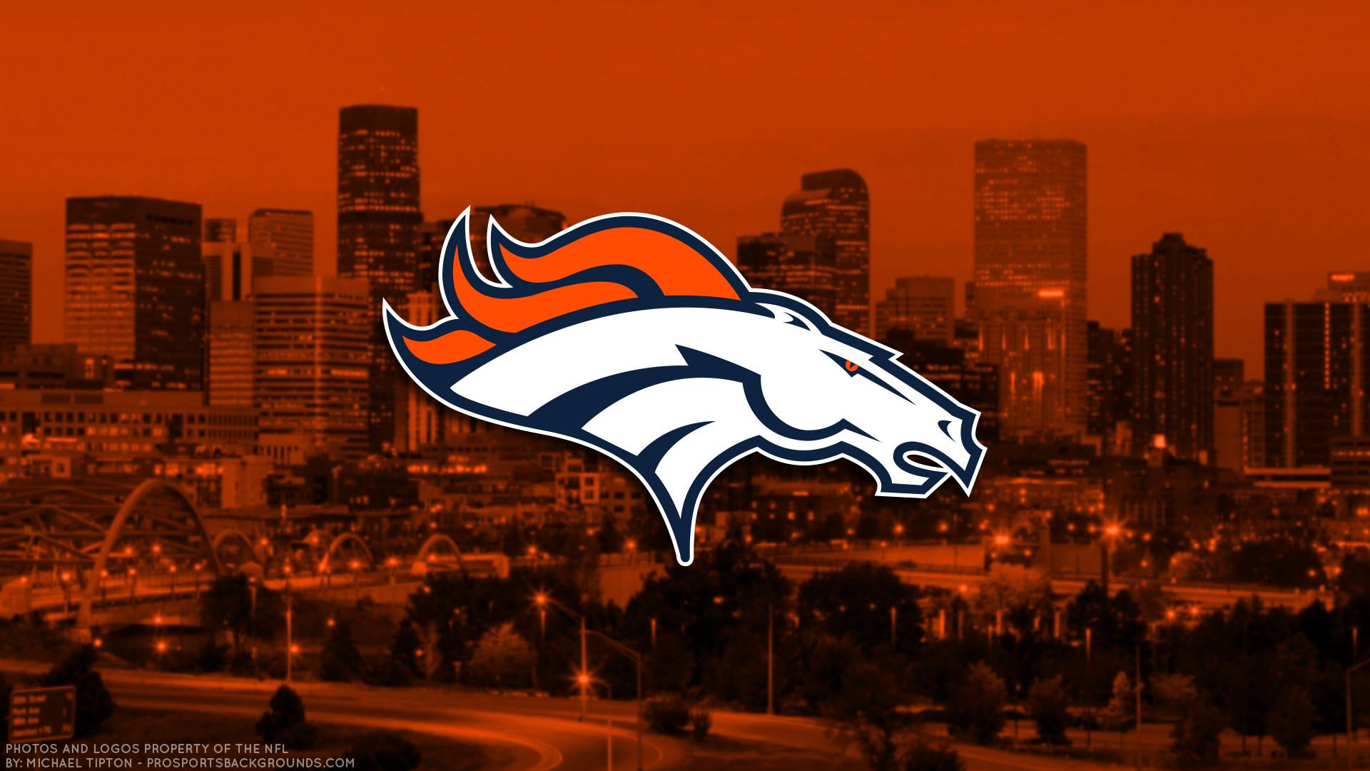 Res: 1920x1080, ... Denver Broncos 2017 football logo wallpaper pc desktop computer