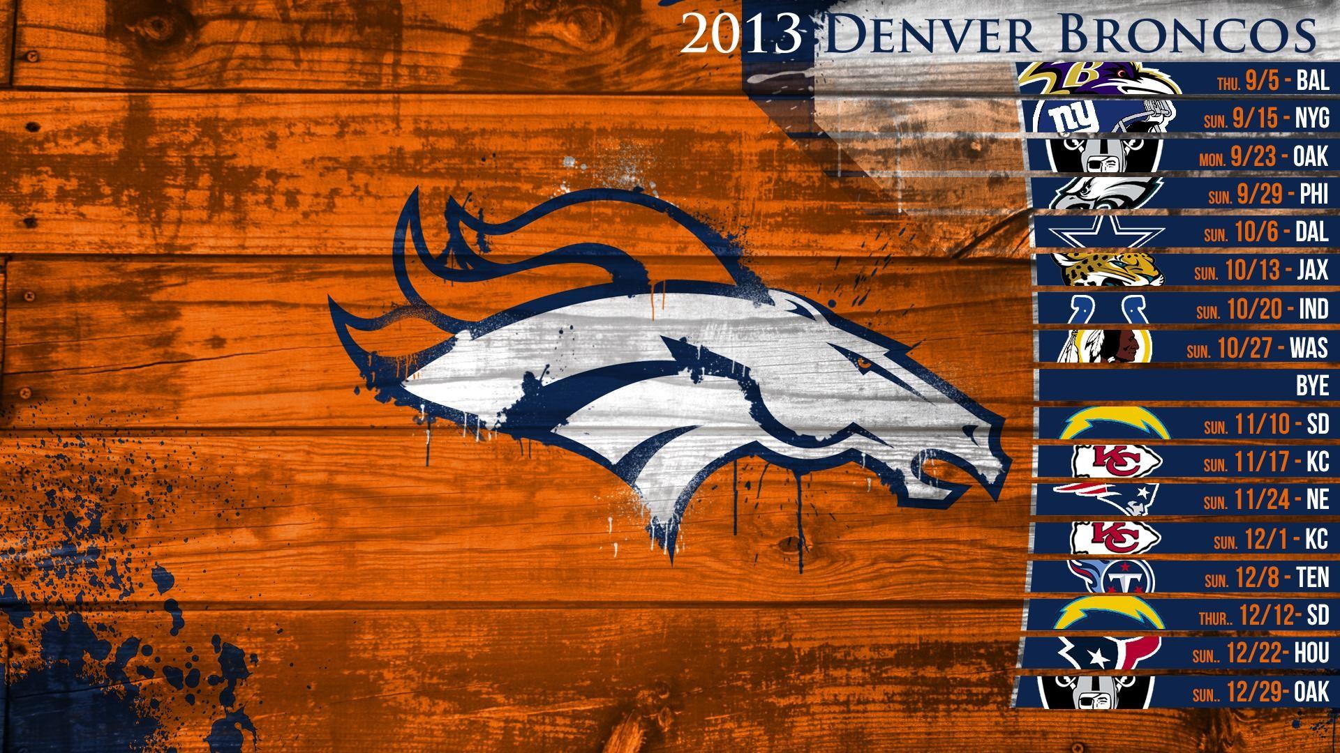 Res: 1920x1080, Broncos Wallpaper 2013