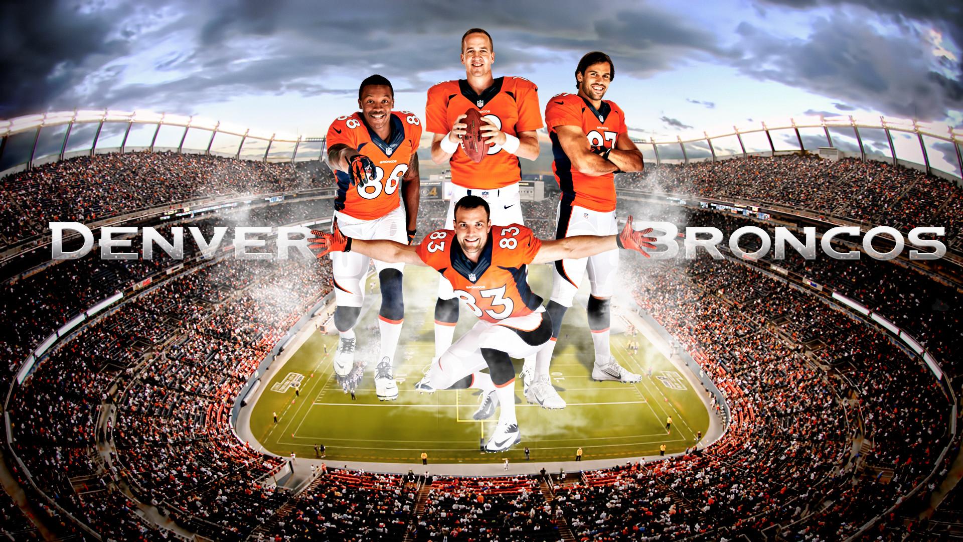Res: 1920x1080, ... DenverSportsWalls Broncos Offense 2013-2014 Wallpaper by  DenverSportsWalls