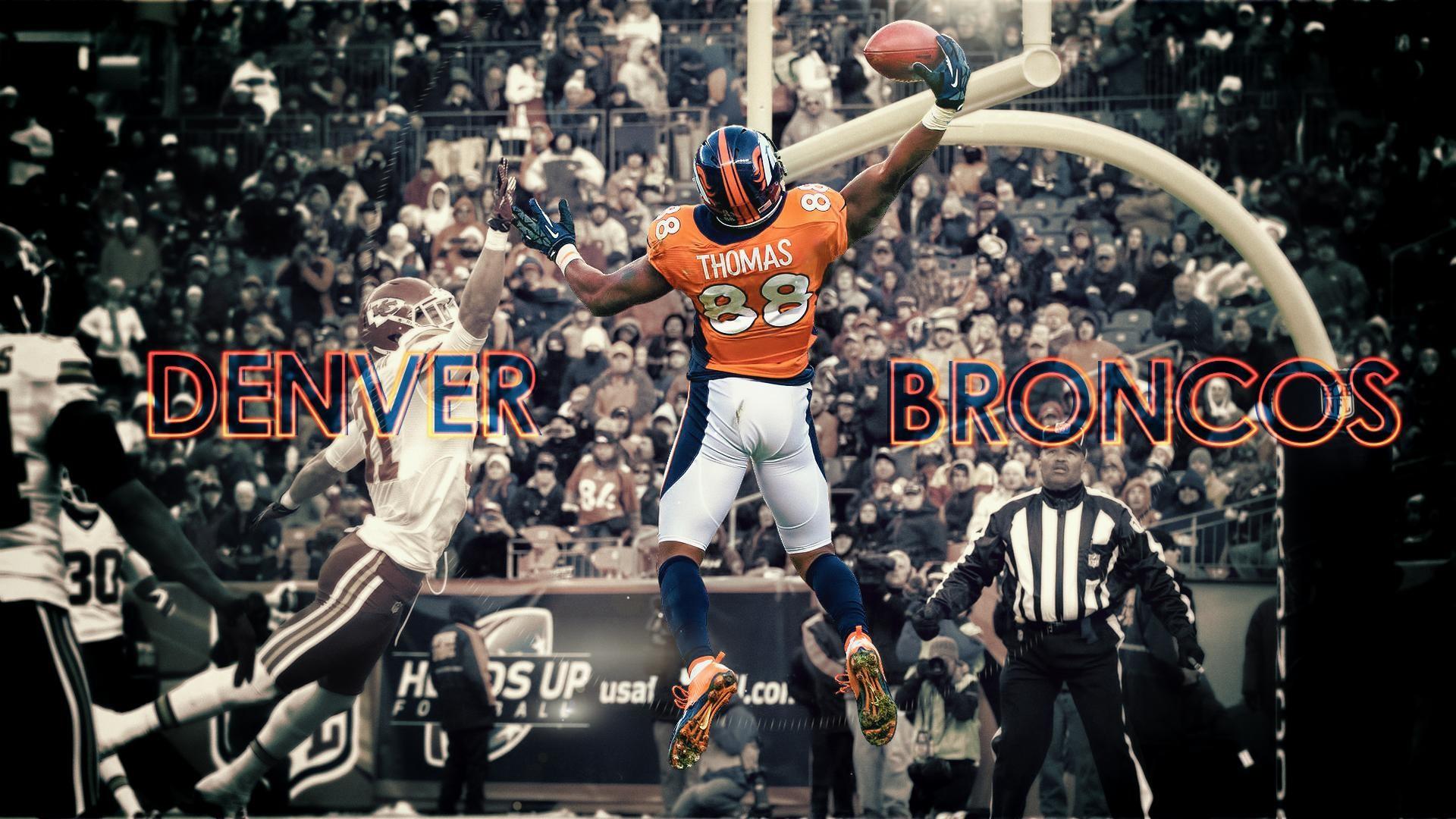 Res: 1920x1080, Demaryius-Thomas-Denver-Broncos -by-DenverSportsWalls-deviantart-com-on-deviantART-wallpaper-wpc5004328