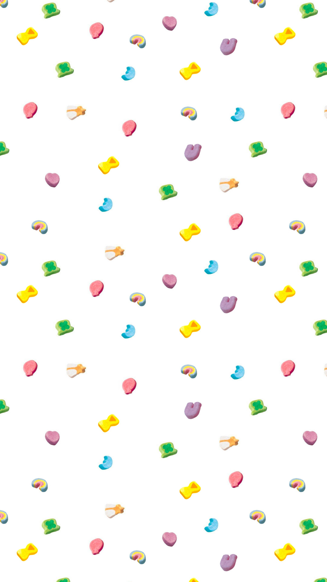 Res: 1080x1920, iPhone 6/7 Plus Wallpaper - Lucky Charms Marshmallows