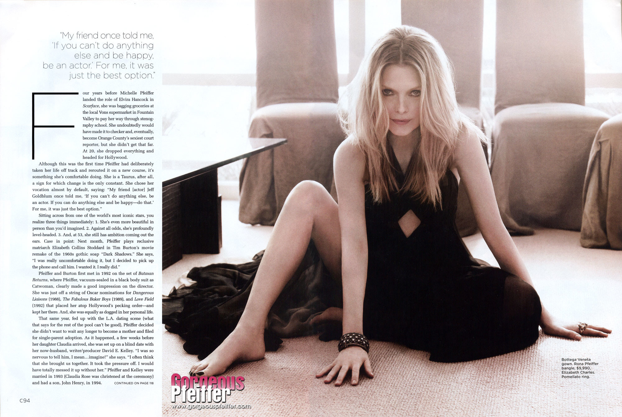 Res: 2000x1341, Michelle Pfeiffer Keeping Hollywood in the Palm of Her Hand   April 2012    Gorgeouspfeiffer