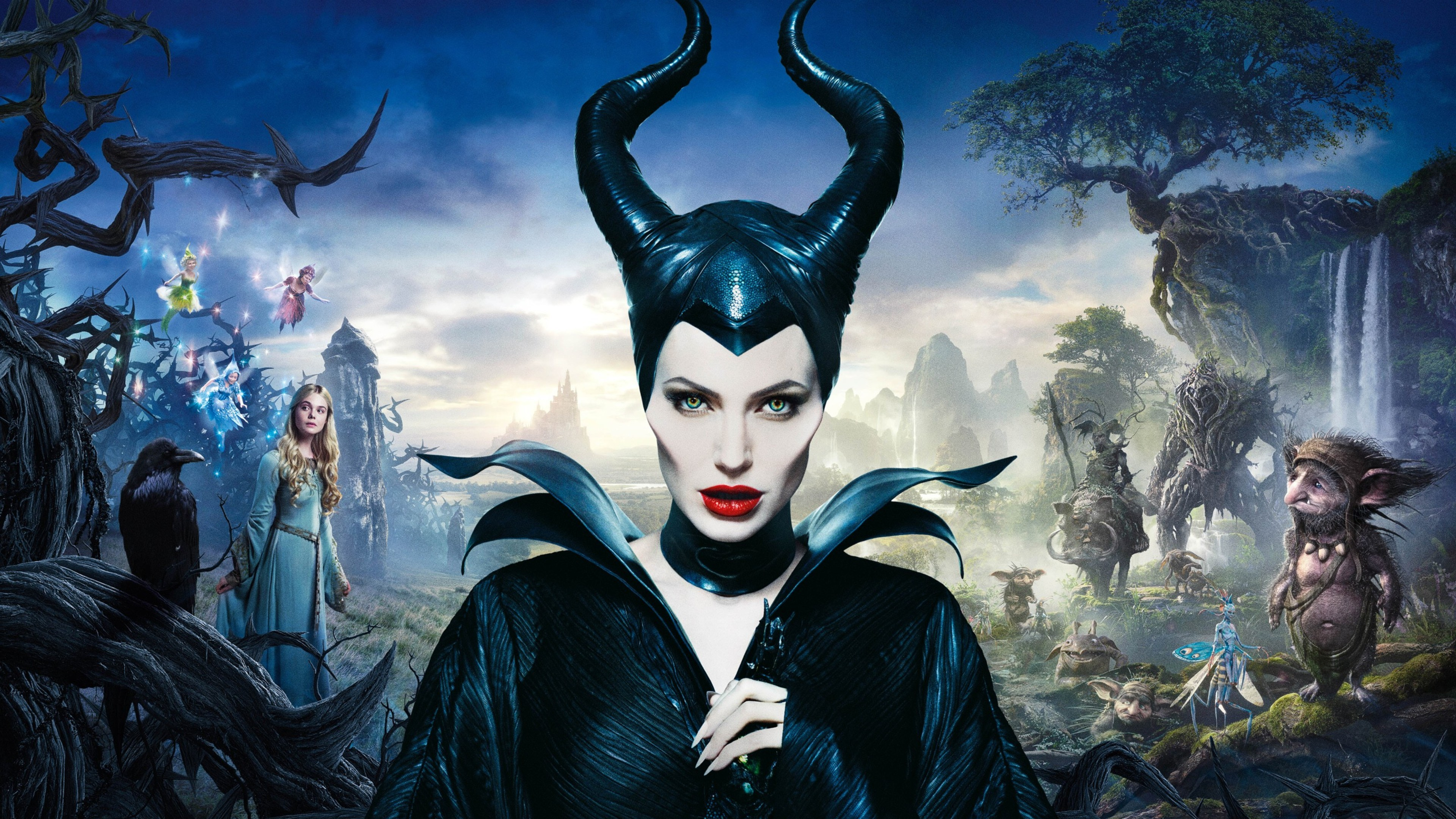 Res: 3840x2160, ANT-MAN AND THE WASP Star Michelle Pfeiffer In Talks To Join Disney's  MALEFICENT 2