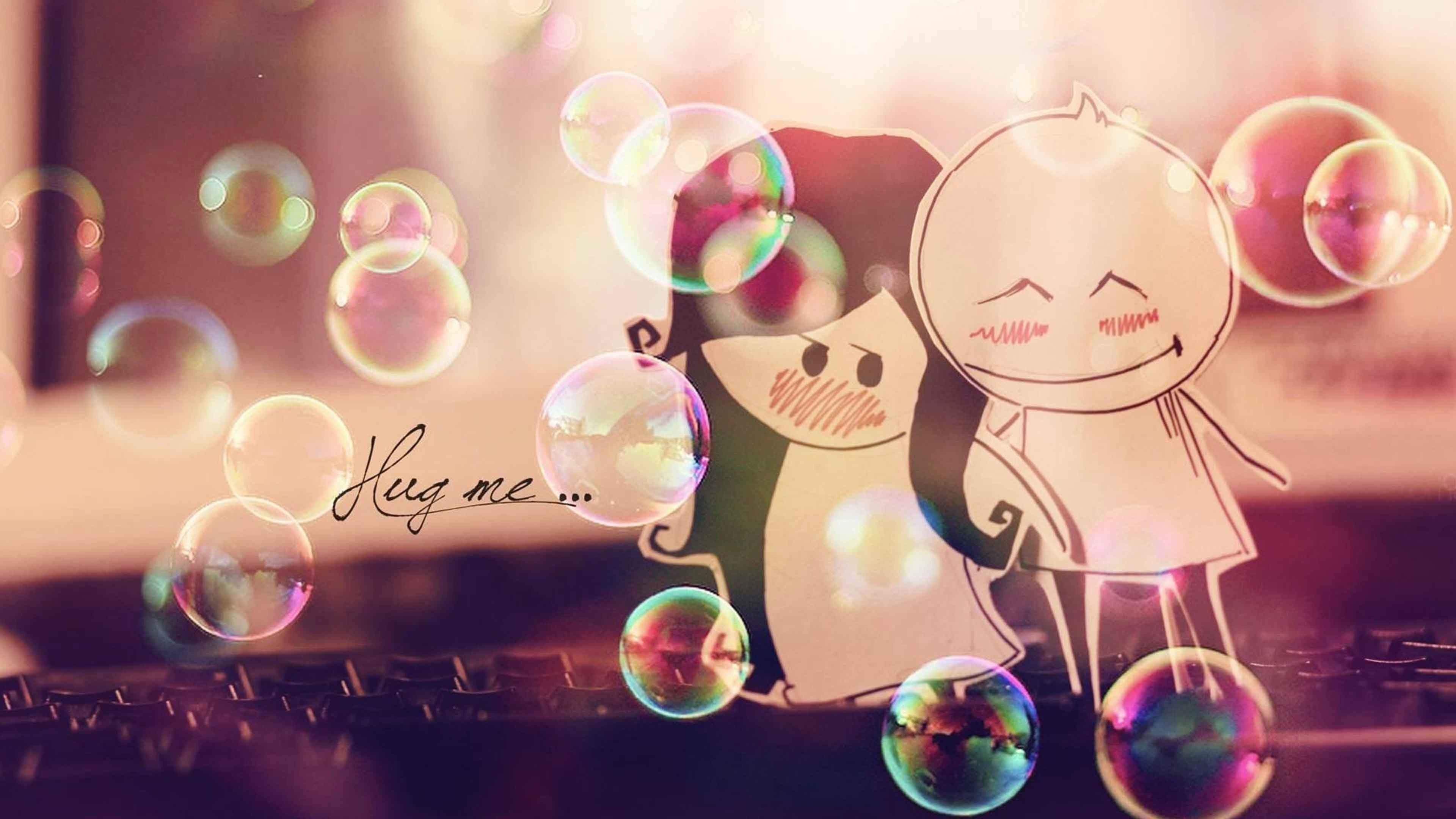 Res: 3840x2160, 3d love couple hd wallpapers · cute cartoon love couple images