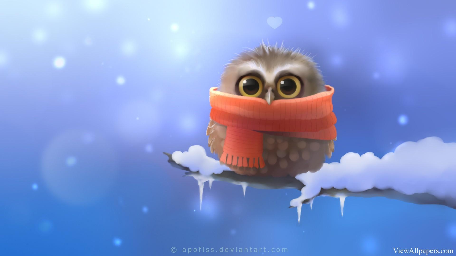 Res: 1920x1080, cute 3d owl wallpaper