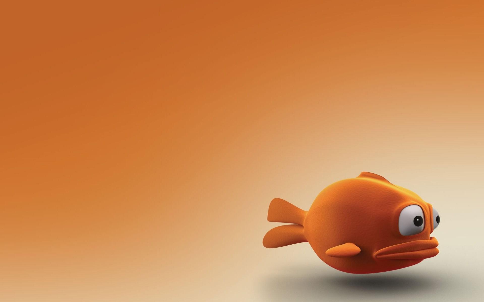 Res: 1920x1200, Beautiful fish 3D wallpaper