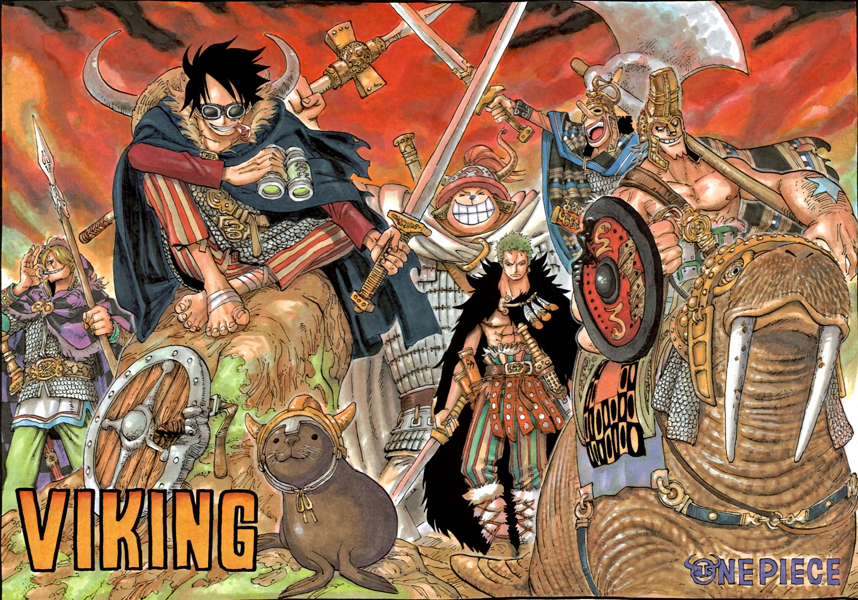 Res: 2760x1930, Anime - One Piece Monkey D. Luffy Zoro Roronoa Sanji (One Piece) Tony