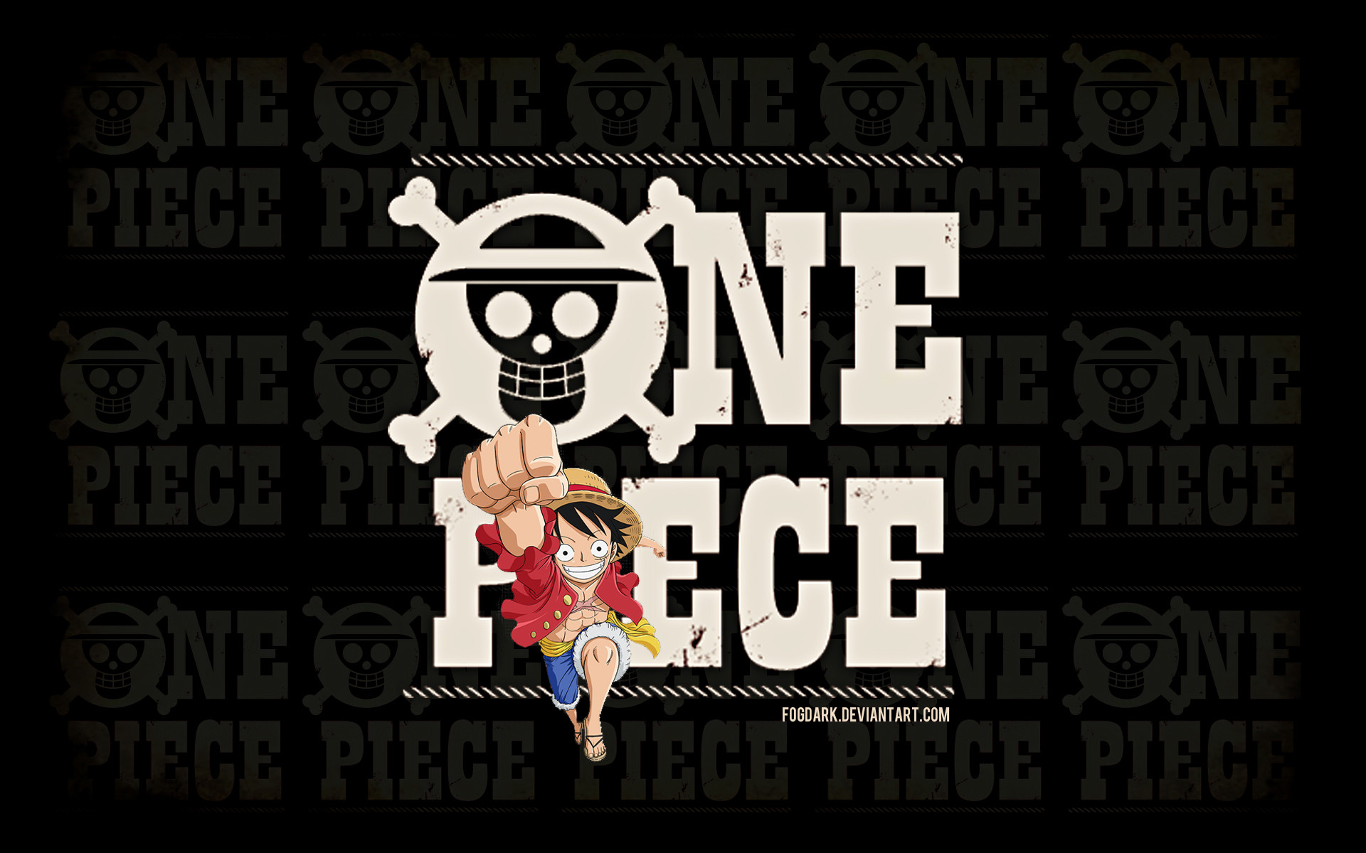 Res: 1920x1200, One Piece Logo Wallpaper by fogdark