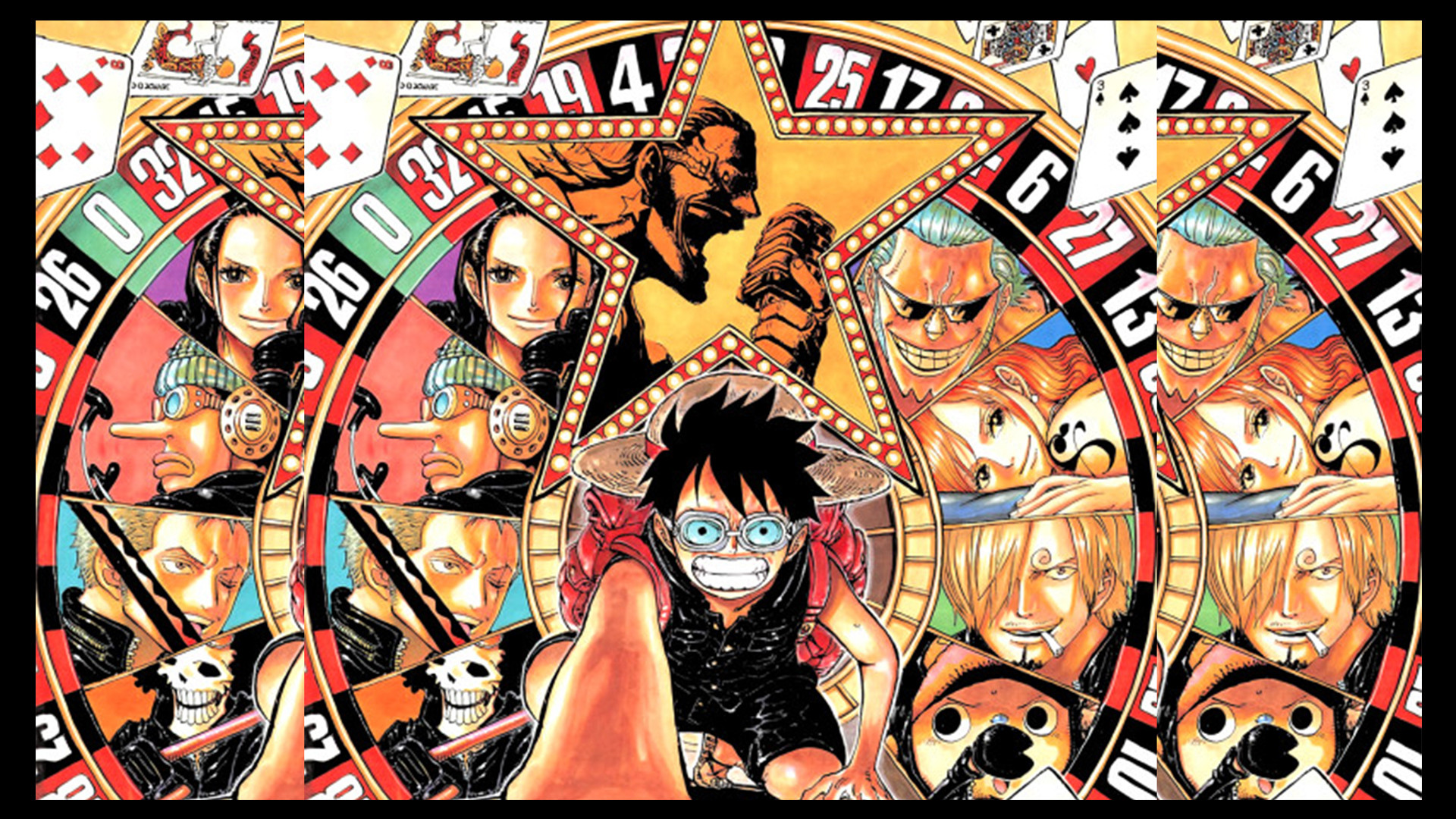 Res: 1920x1080, One Piece Film Gold Wallpaper HD 2016
