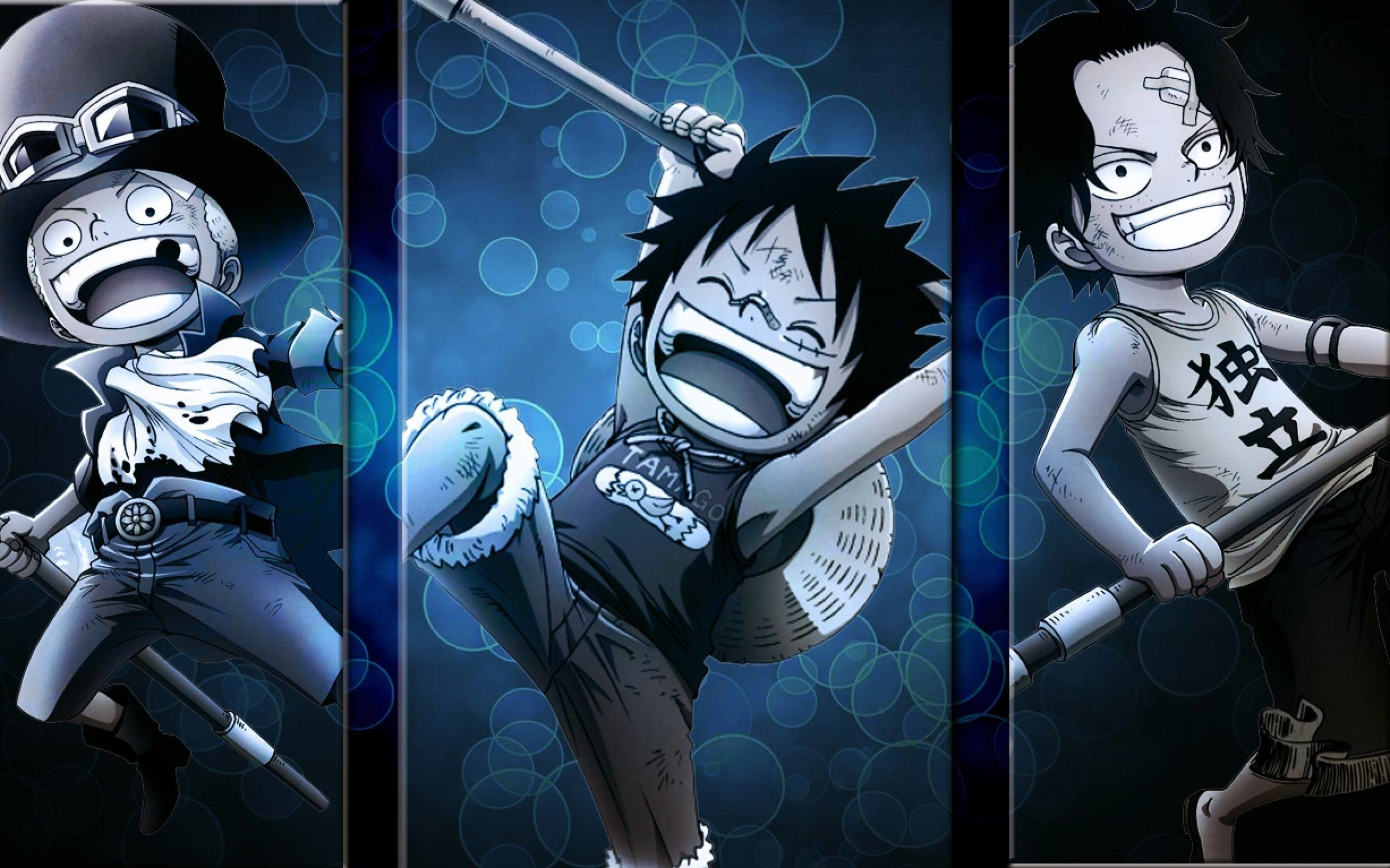 Res: 2560x1600, One Piece Luffy And Ace Wallpaper Is Cool Wallpapers