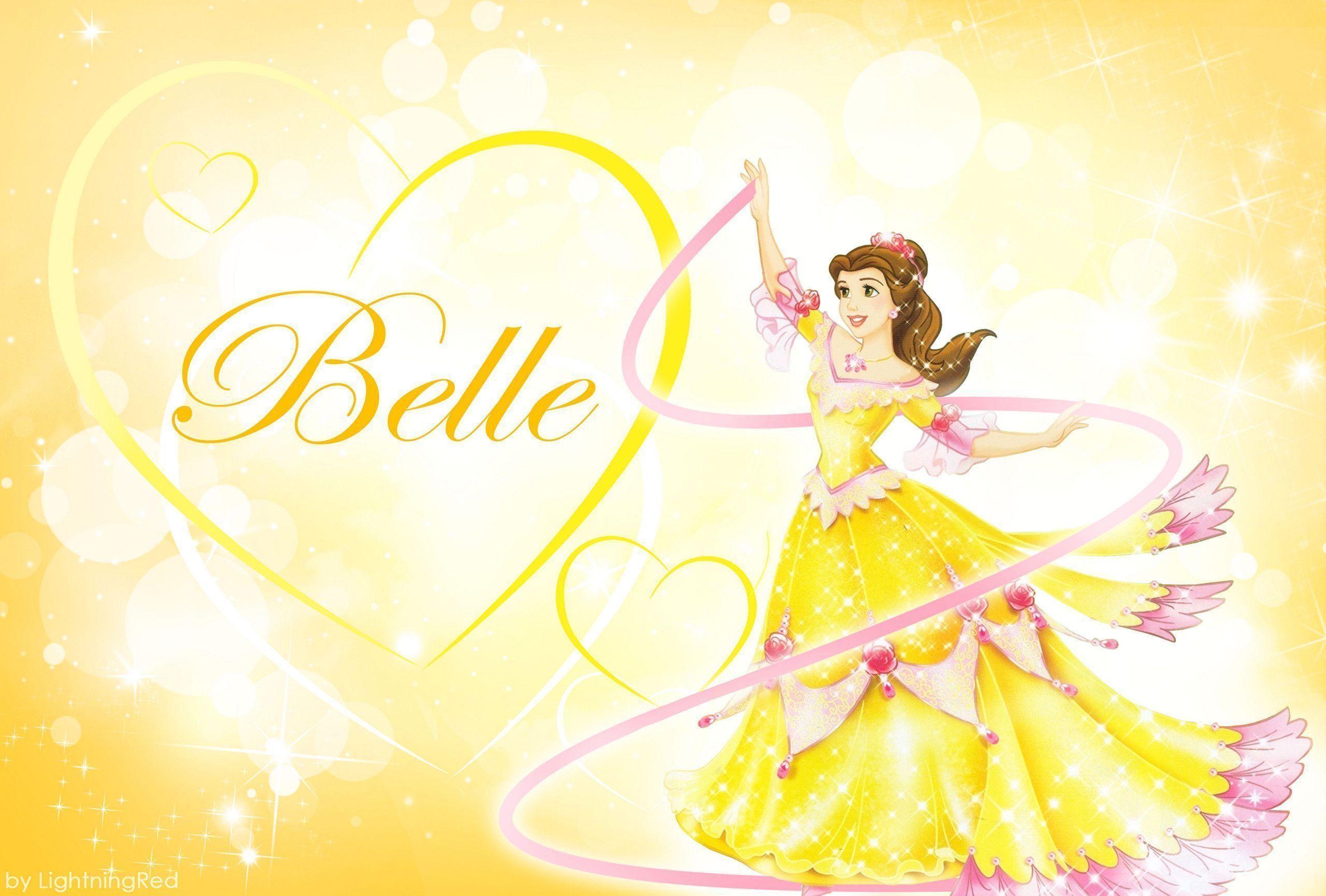 Res: 2560x1730, Yellow Belle Wallpaper - Disney Princess Fan Art (31653228) - Fanpop