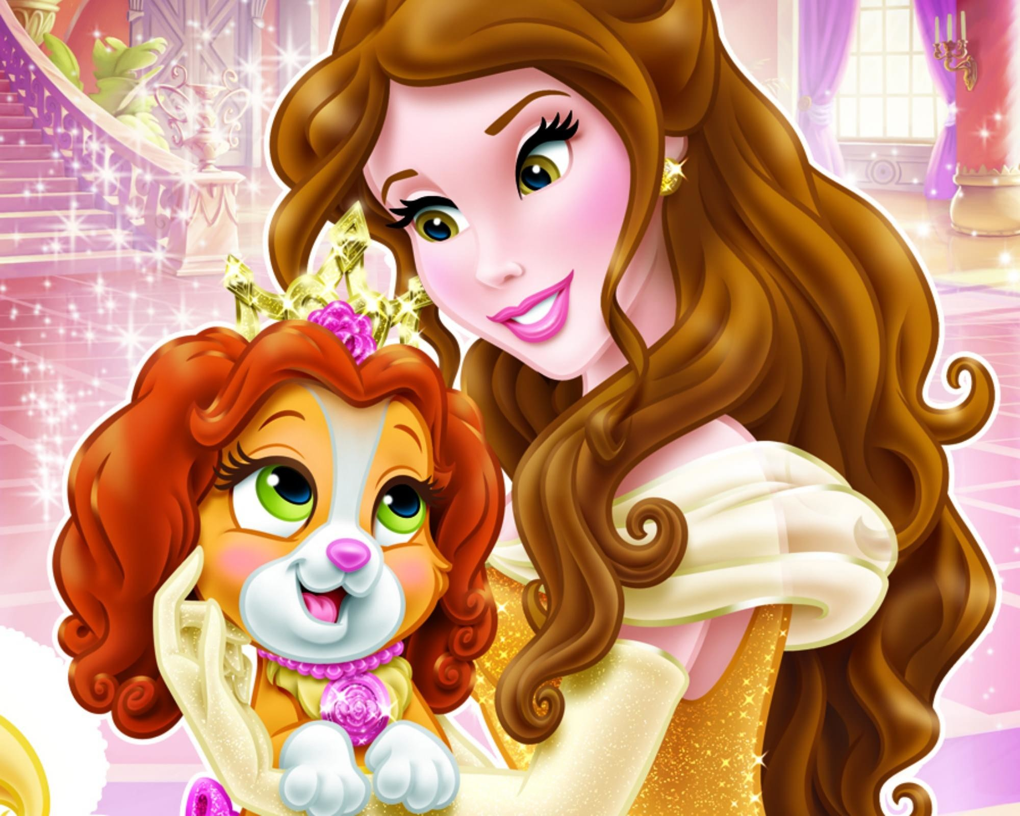 Res: 2000x1600, Teacup & Belle Disney Wallpaper