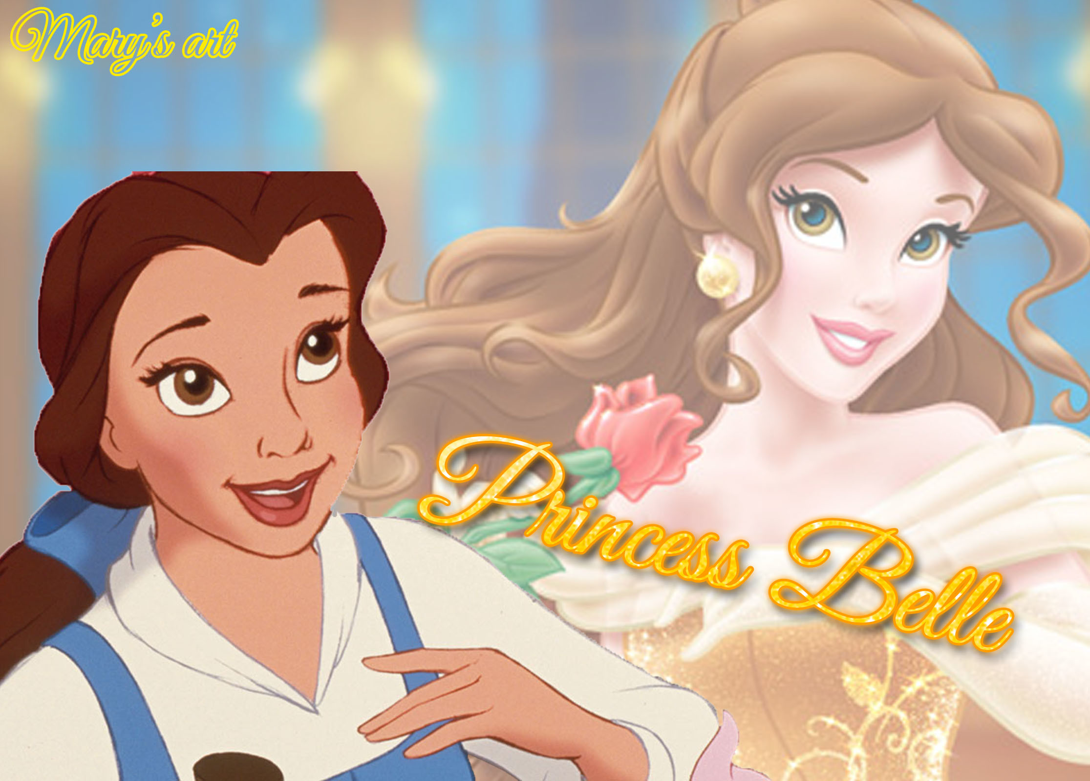 Res: 2231x1600, Princess Belle Wallpaper by marylovebloom Princess Belle Wallpaper by  marylovebloom
