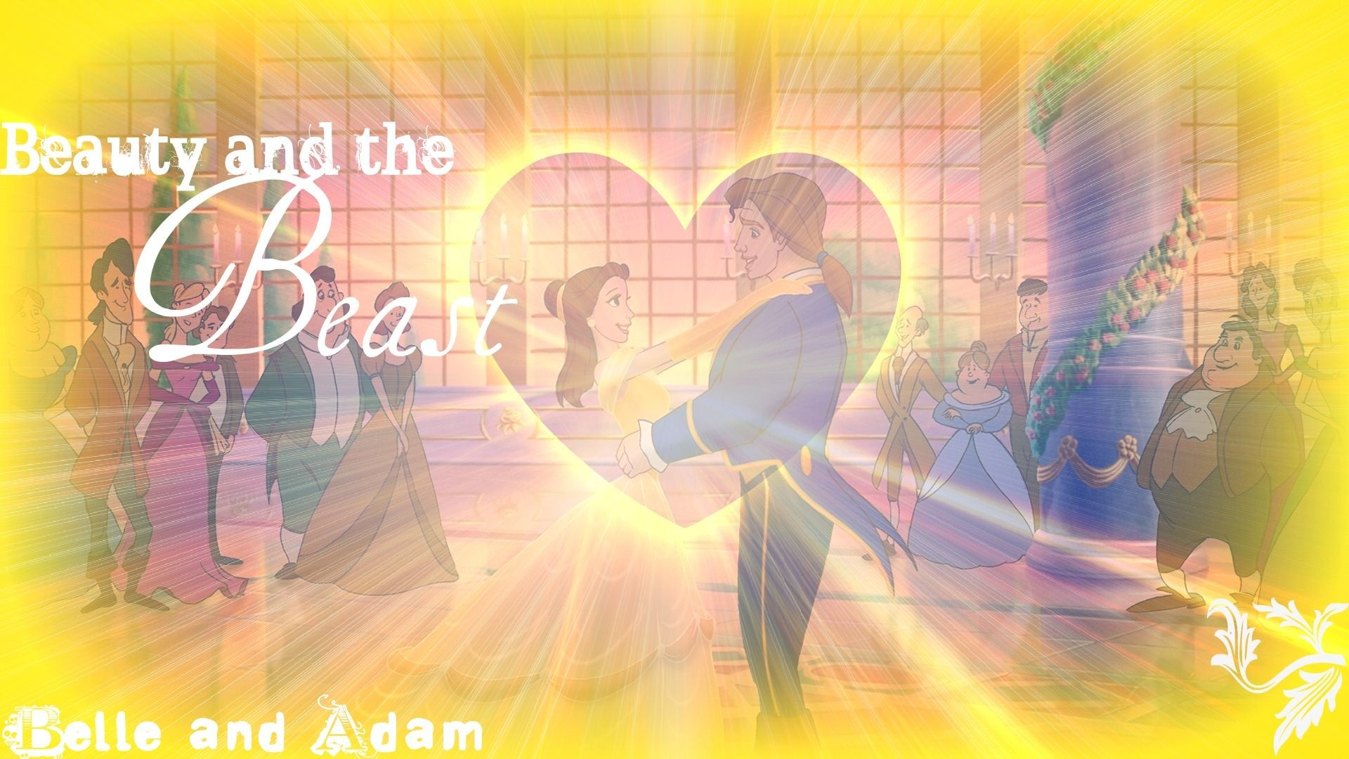 Res: 1920x1080, Princess Belle and Prince Adam | Disney Princess Belle and The Prince(Adam)  | Ƹ̵̡Ӝ̵̨̄Ʒ Beauty And The Beast Ƹ̵̡Ӝ̵̨̄Ʒ | Pinterest | Disney princess belle,  ...