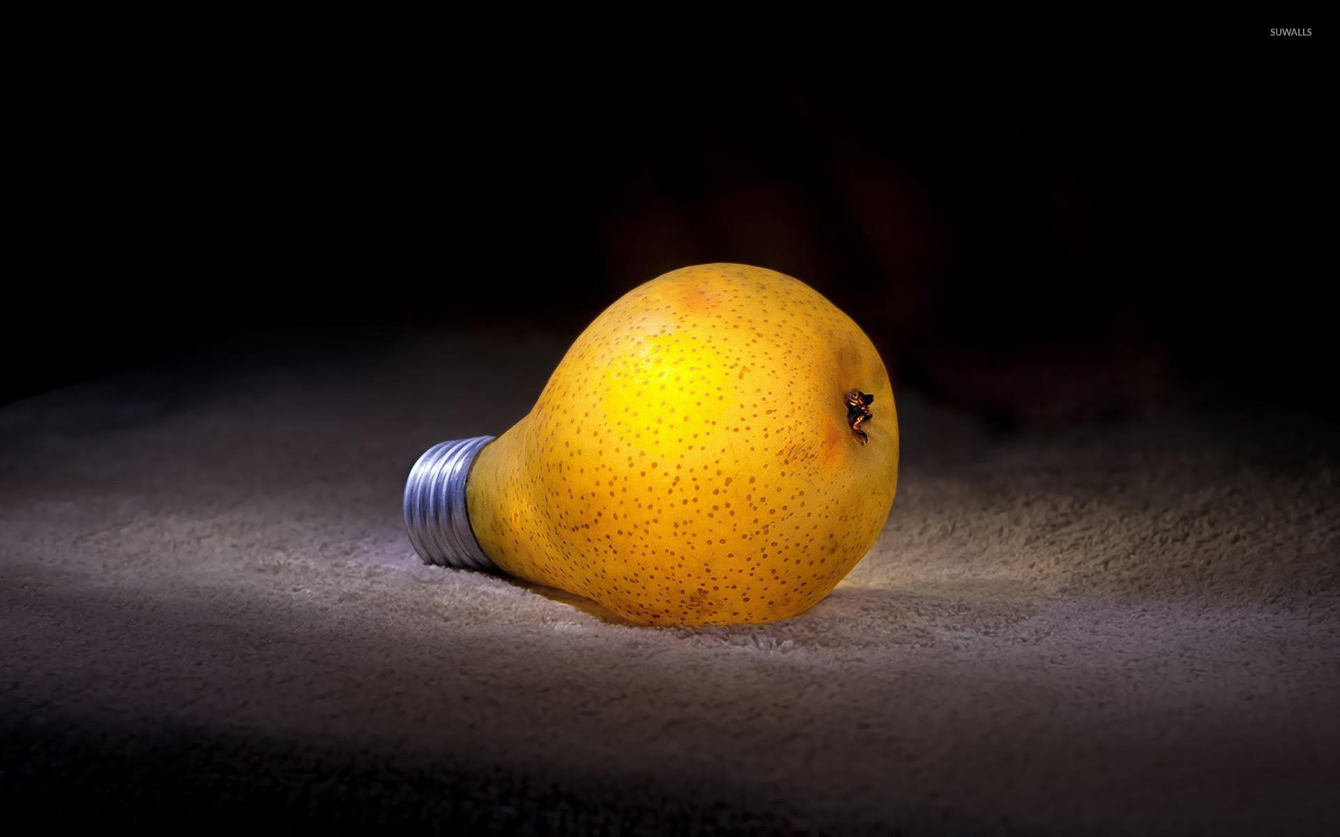 Res: 1920x1200, Pear bulb wallpaper