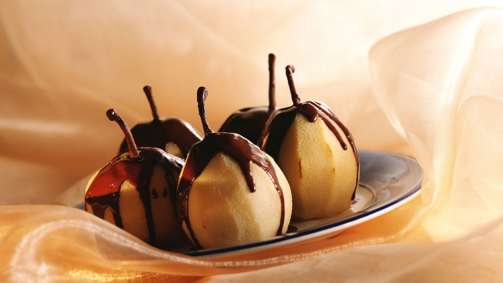 Res: 1920x1080, chocolate covered pear HD wallpaper
