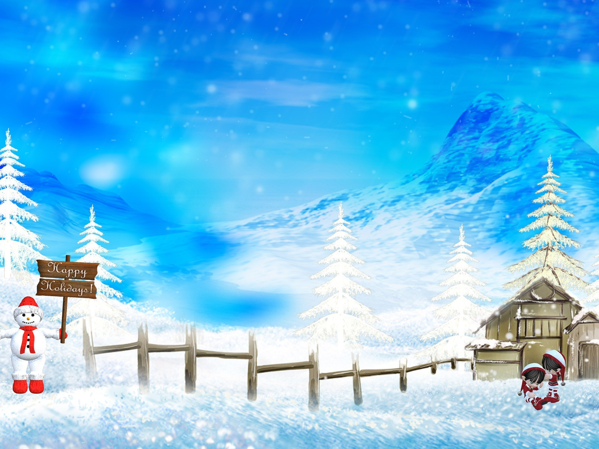 Res: 1920x1440, Happy Hollidays Wallpaper Christmas Holidays Wallpapers
