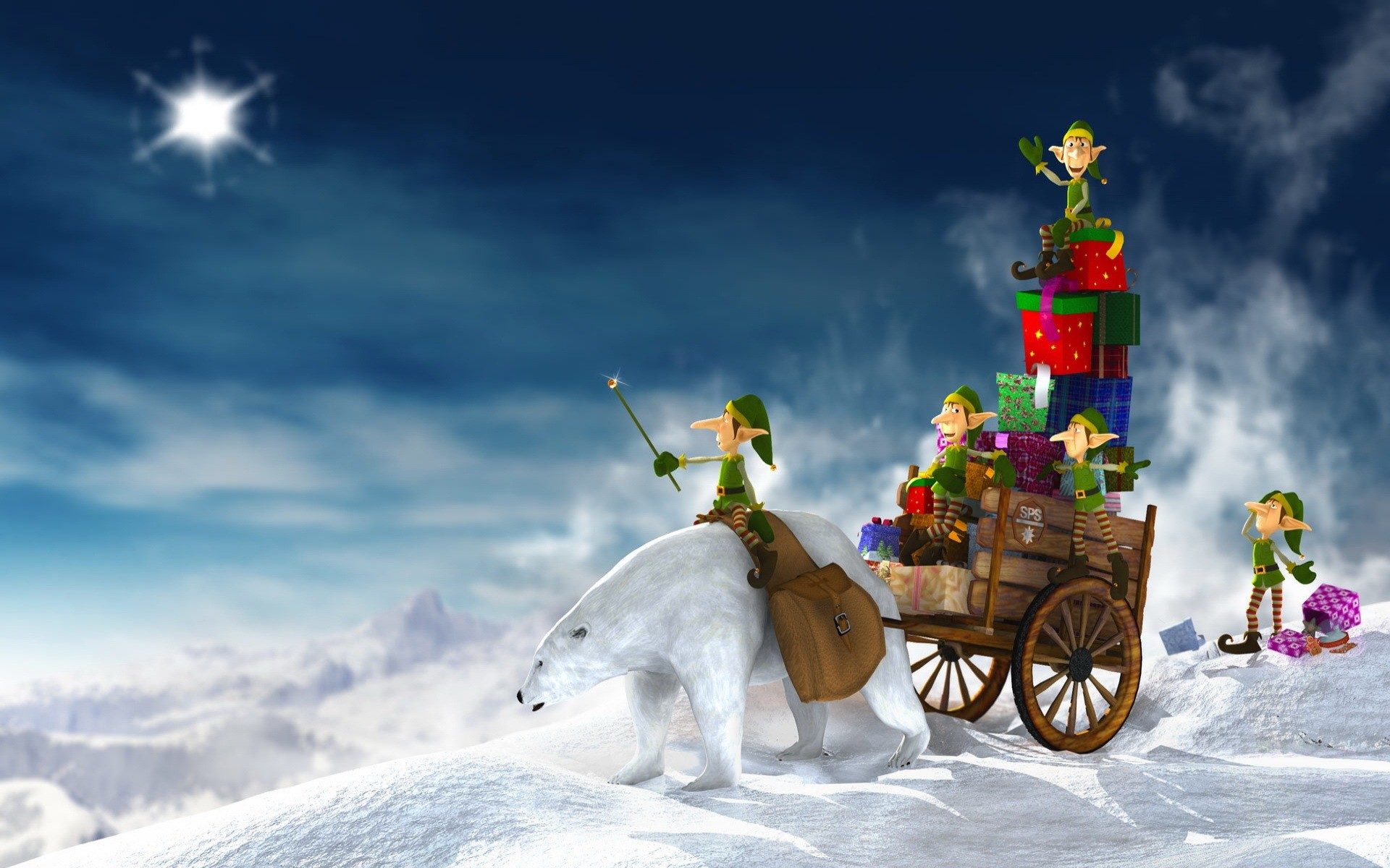 Res: 1920x1200, Gifts for Christmas Wallpaper Christmas Holidays Wallpapers