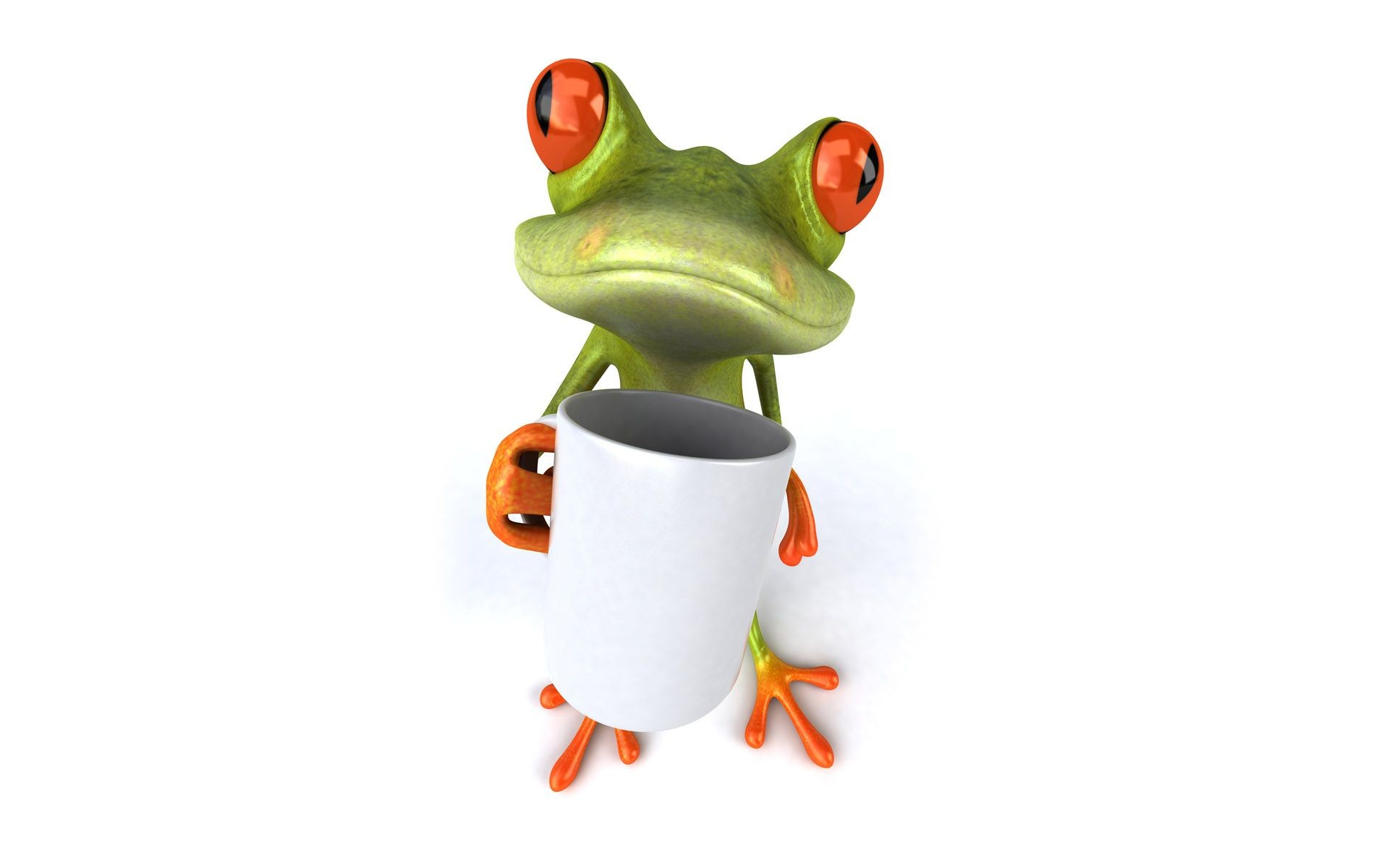 Res: 1920x1200, Cute Frog Wallpaper HD Funny Animal